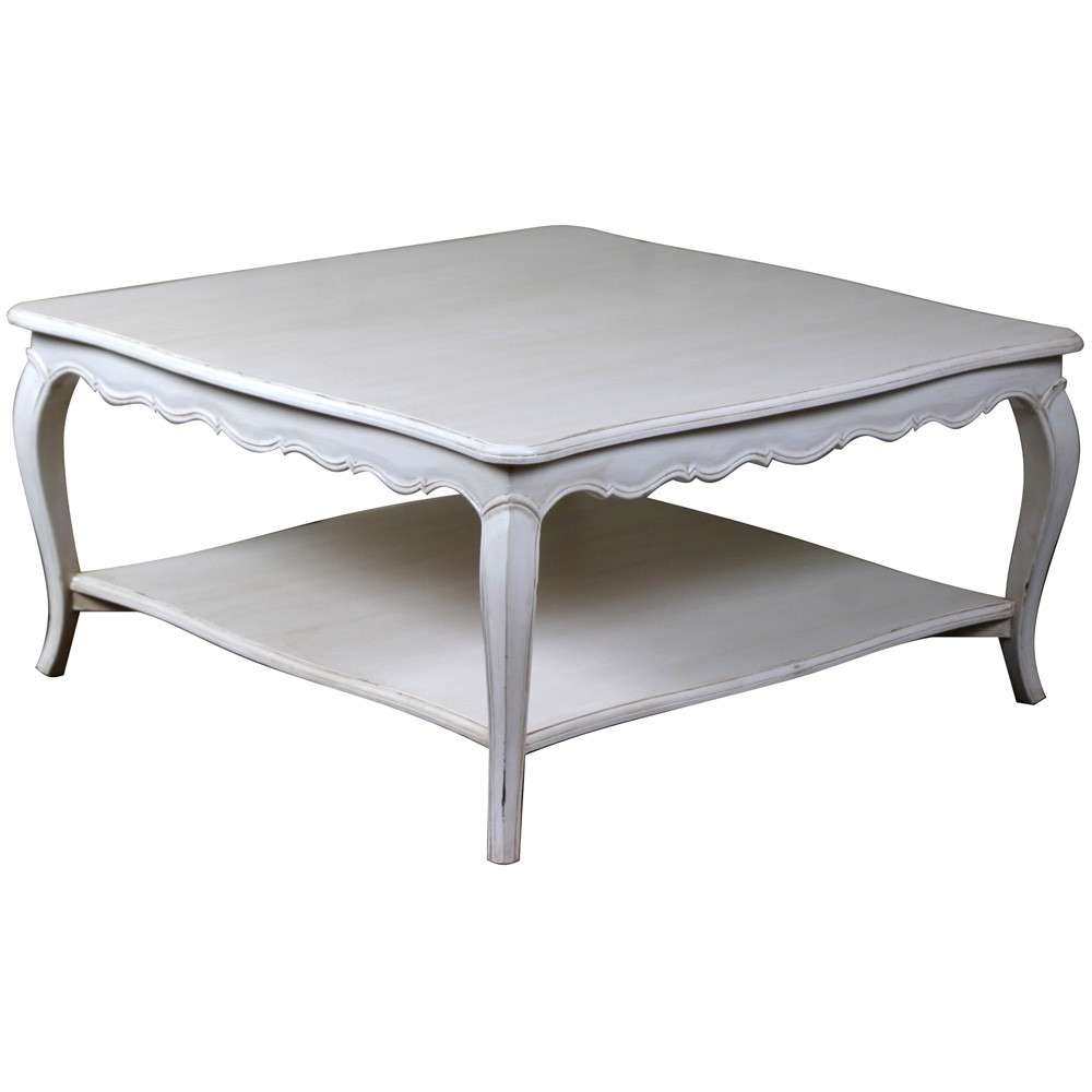Most Recently Released French Style Coffee Tables Pertaining To Louis French Coffee Table, Grey (View 15 of 20)