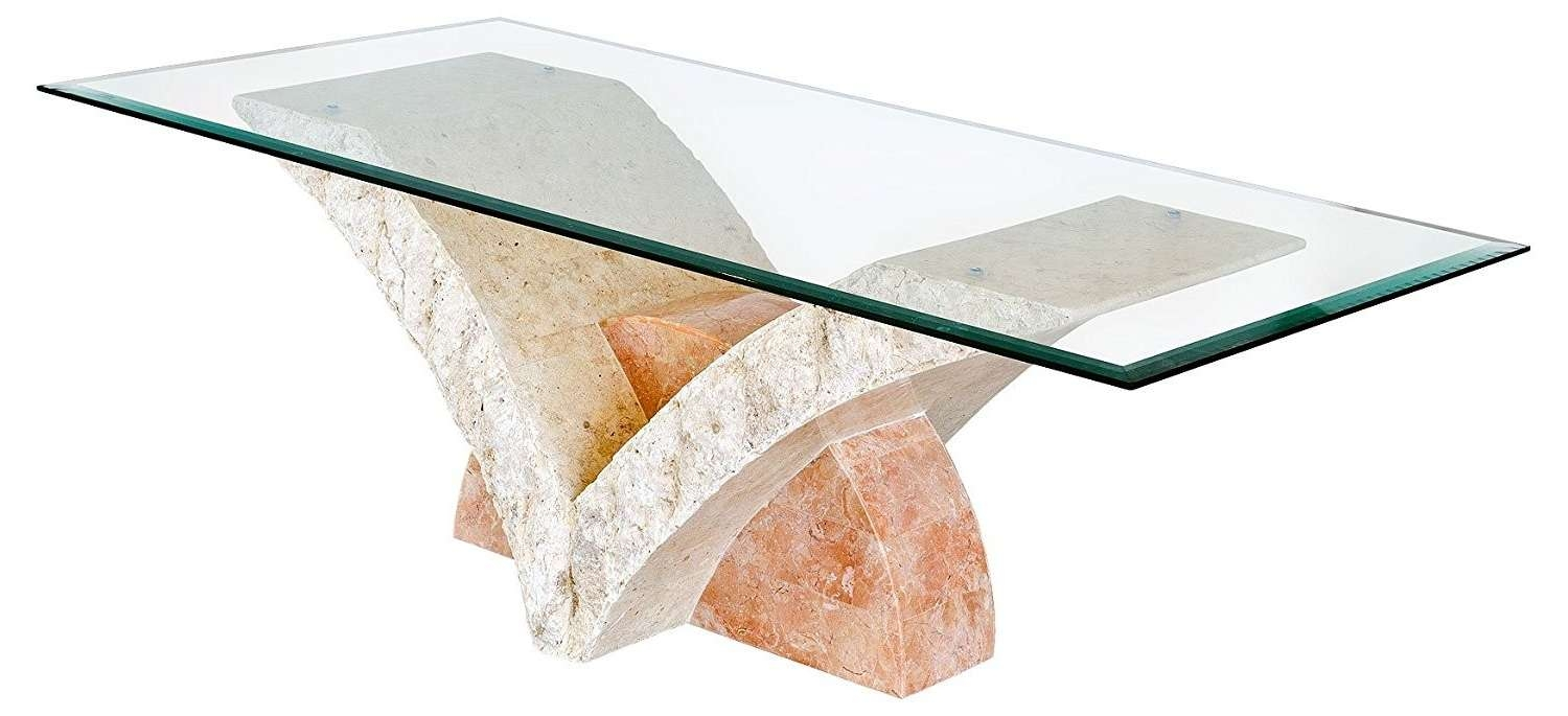Most Recently Released Glass And Stone Coffee Table With Glass Coffee Table With Stone Base Home Remodel Fab And Charming (View 11 of 20)