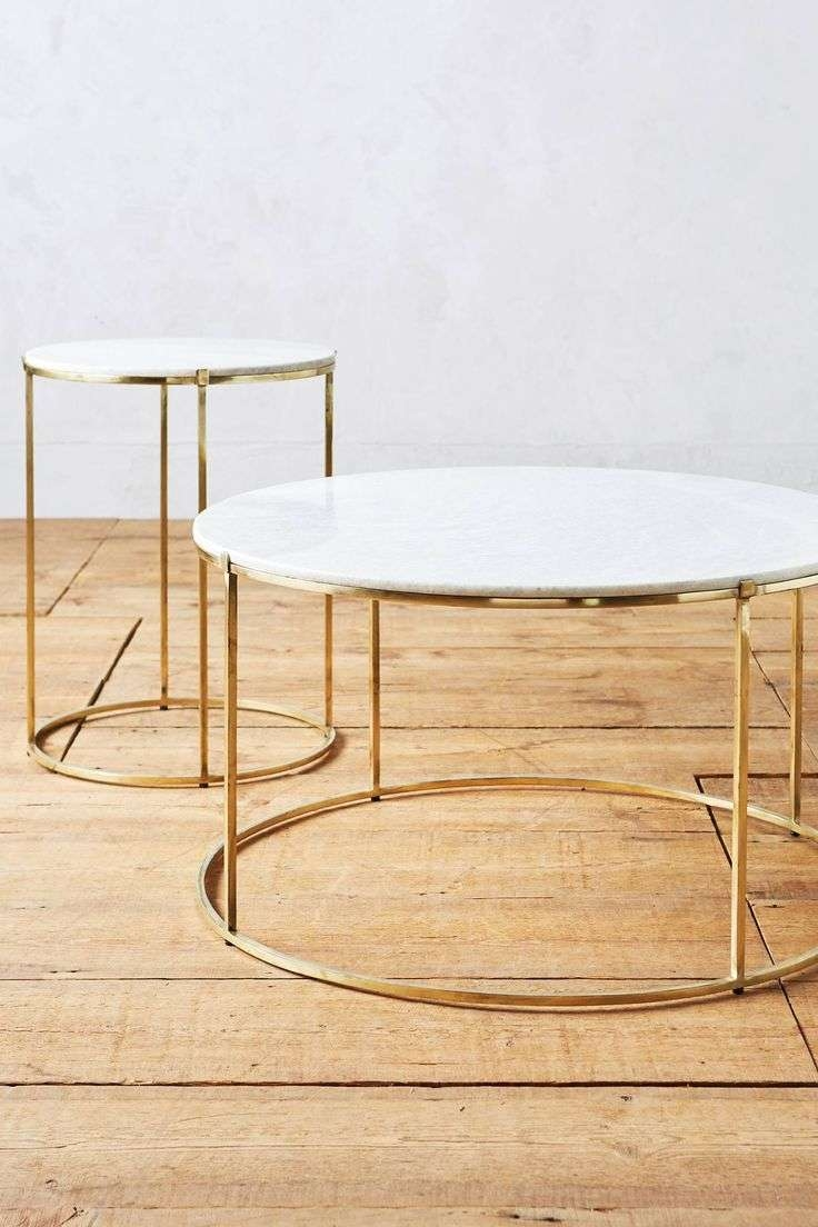 Most Recently Released Gold Round Coffee Table In Best 25+ Gold Coffee Tables Ideas On Pinterest (View 16 of 20)