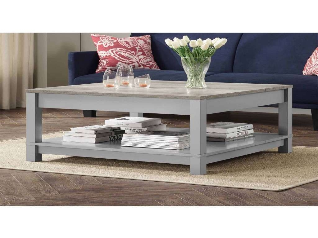 Most Recently Released Gray Wood Coffee Tables With Coffee Table : Amazing Oak Coffee Table Grey Stone Coffee Table (View 13 of 20)