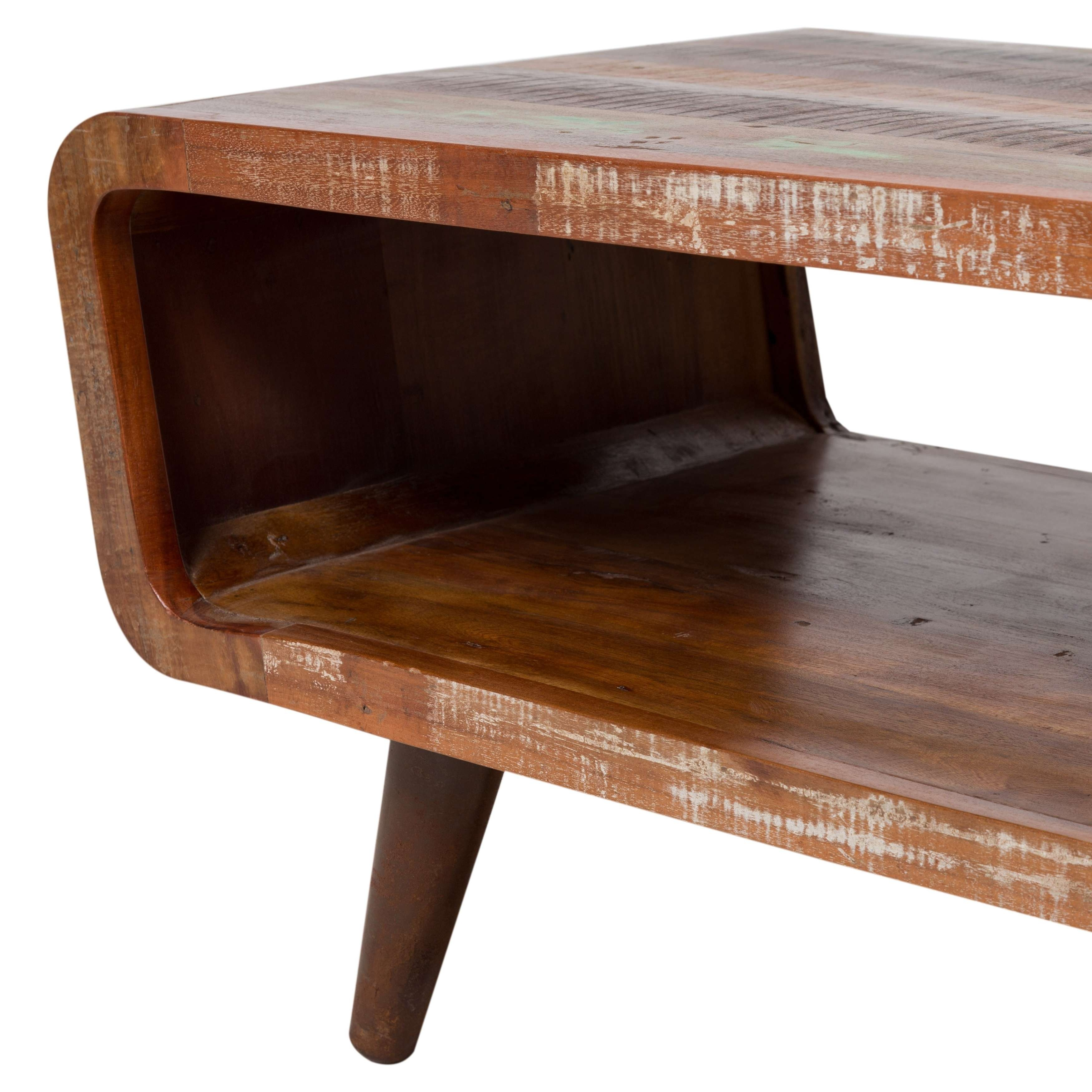 Most Recently Released Handmade Wooden Coffee Tables With Handmade Wanderloot Route 66 Reclaimed Wood Coffee Table (India (View 16 of 20)
