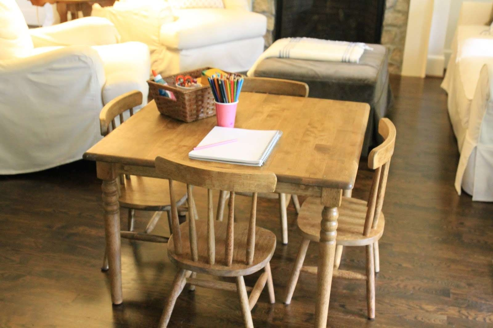 Most Recently Released Kids Coffee Tables With Jenny Steffens Hobick: Finishing An Unfinished Kids Table & Chairs (View 15 of 20)