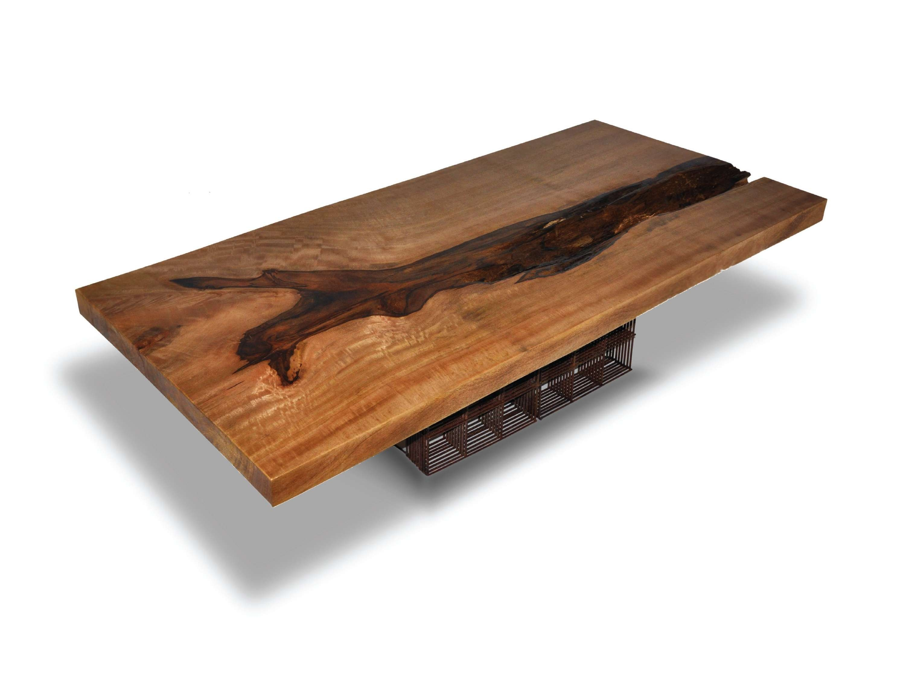 Most Recently Released Mango Wood Coffee Tables Intended For Riveting Maze Coffee Table Salvaged Mango Wood Industrial Organic (View 11 of 20)