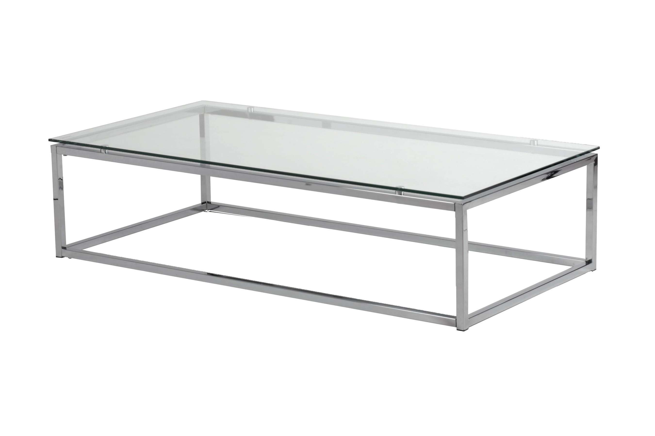 Most Recently Released Metal Glass Coffee Tables With Glass Display Large Square Glass And Metal Coffee Tables Table (View 15 of 20)