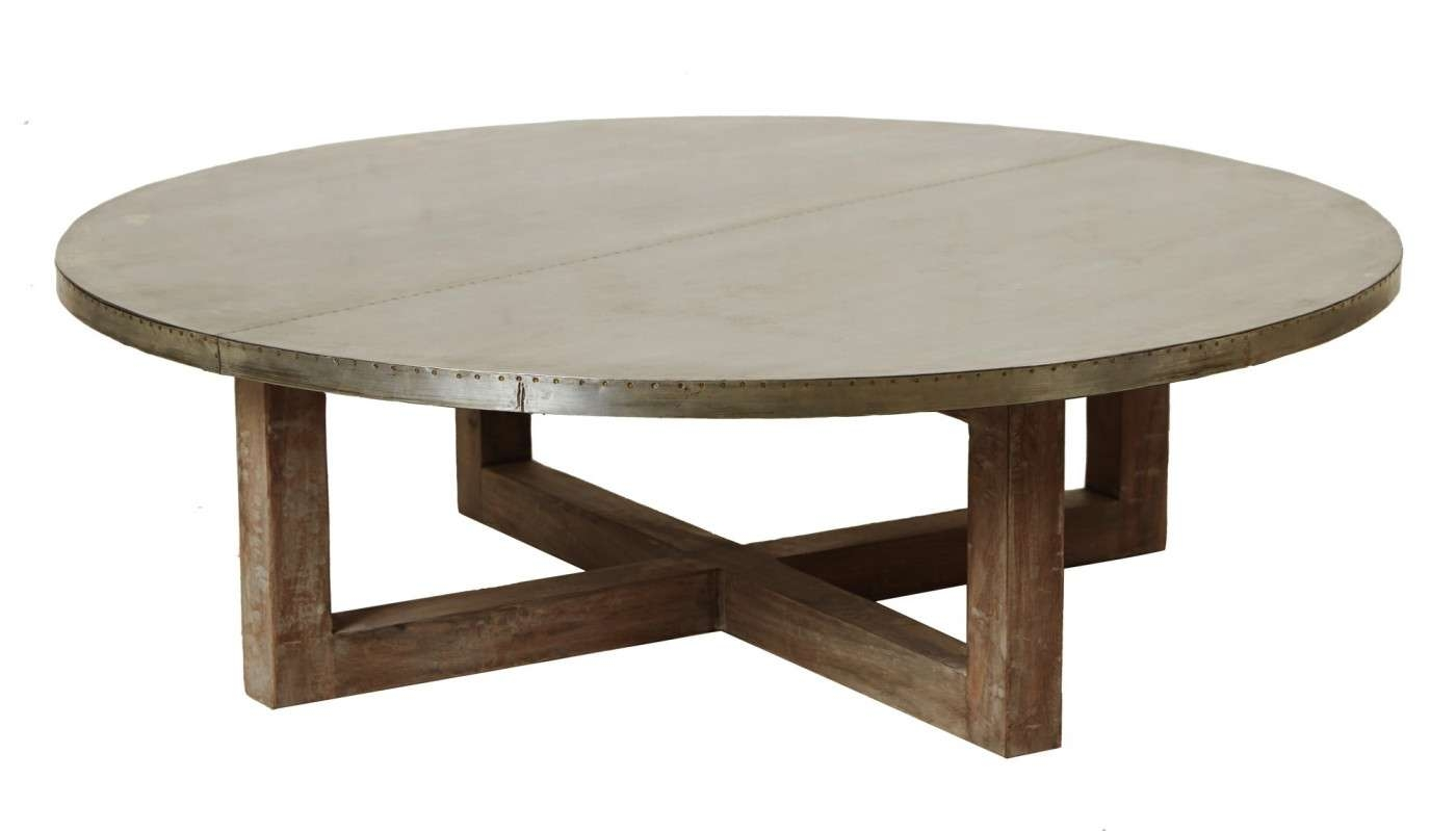 Most Recently Released Round Coffee Tables Pertaining To Round Coffee Table For Modern Interior Design (View 15 of 20)
