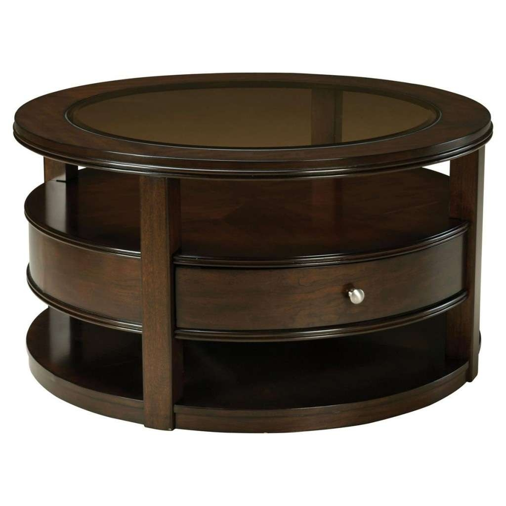 Most Recently Released Round Coffee Tables With Drawer With Best Round Coffee Tables With Drawers Images – Used Round Coffee (View 10 of 20)