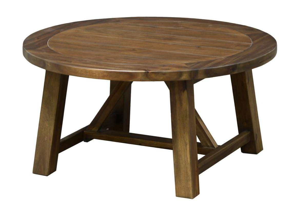 Most Recently Released Round Pine Coffee Tables Intended For Furniture (View 11 of 20)