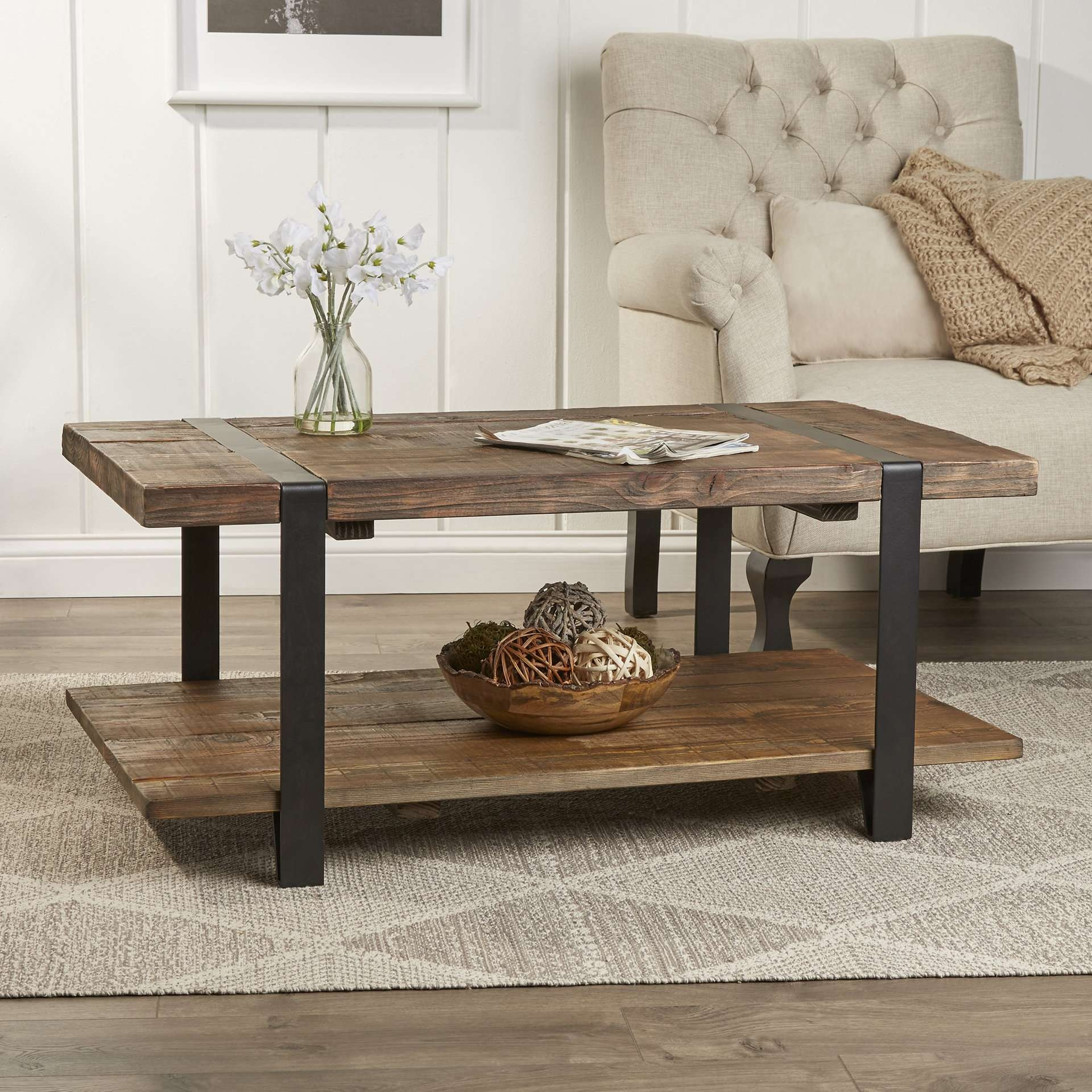 Most Recently Released Rustic Style Coffee Tables Inside Rustic Coffee Tables You'll Love (View 12 of 20)