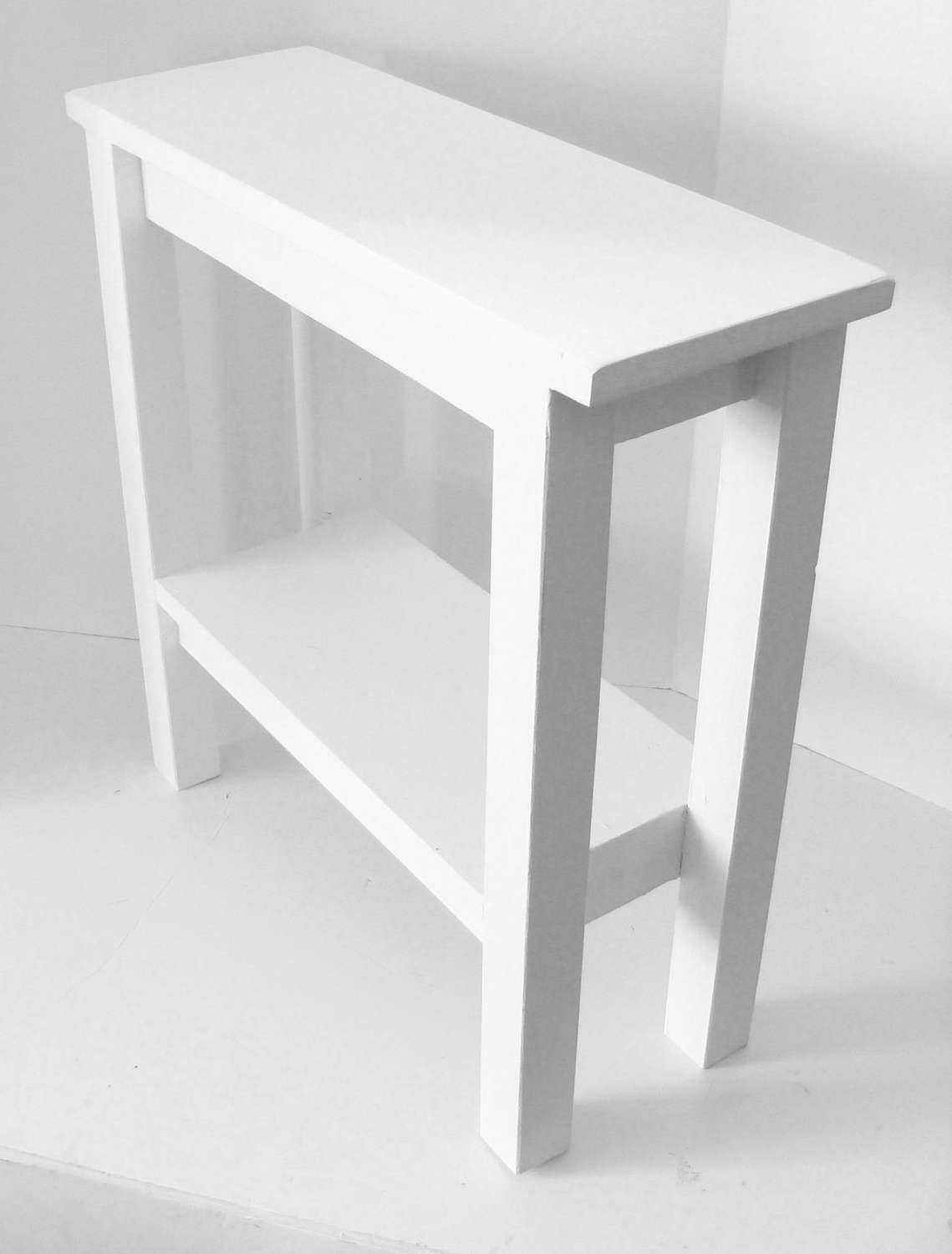 Most Recently Released Small Coffee Tables With Shelf Regarding Rectangle White  Wooden Table With Shelf Also