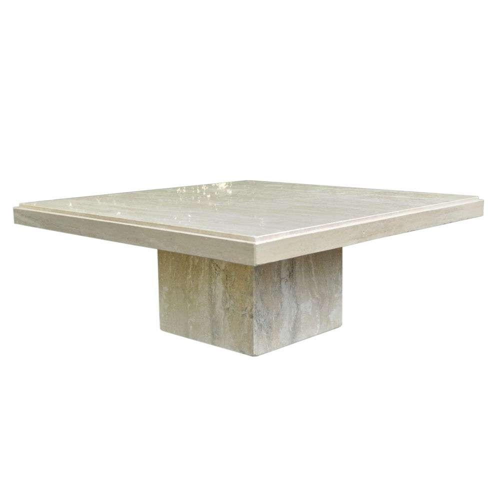 Most Recently Released Square Stone Coffee Tables Intended For Images Of Travertine Coffee Table Decor – Travertine Coffee Table (View 9 of 20)