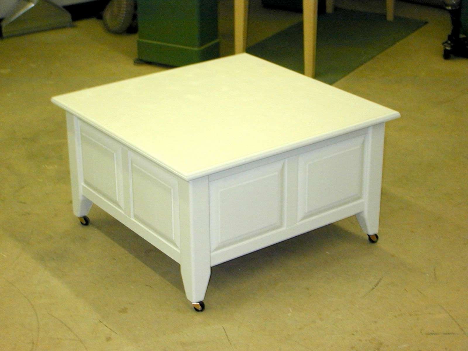 Most Recently Released Square White Coffee Tables With Coffee Table: Exciting Square Coffee Table With Storage Small (View 11 of 20)