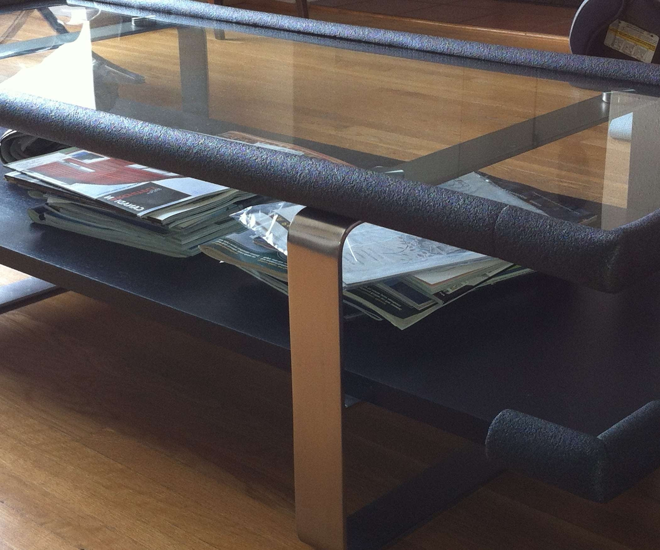 Most Up To Date Baby Proof Coffee Tables Corners In How To Baby Proof Sharp Corners On The Cheap!!! (View 4 of 20)