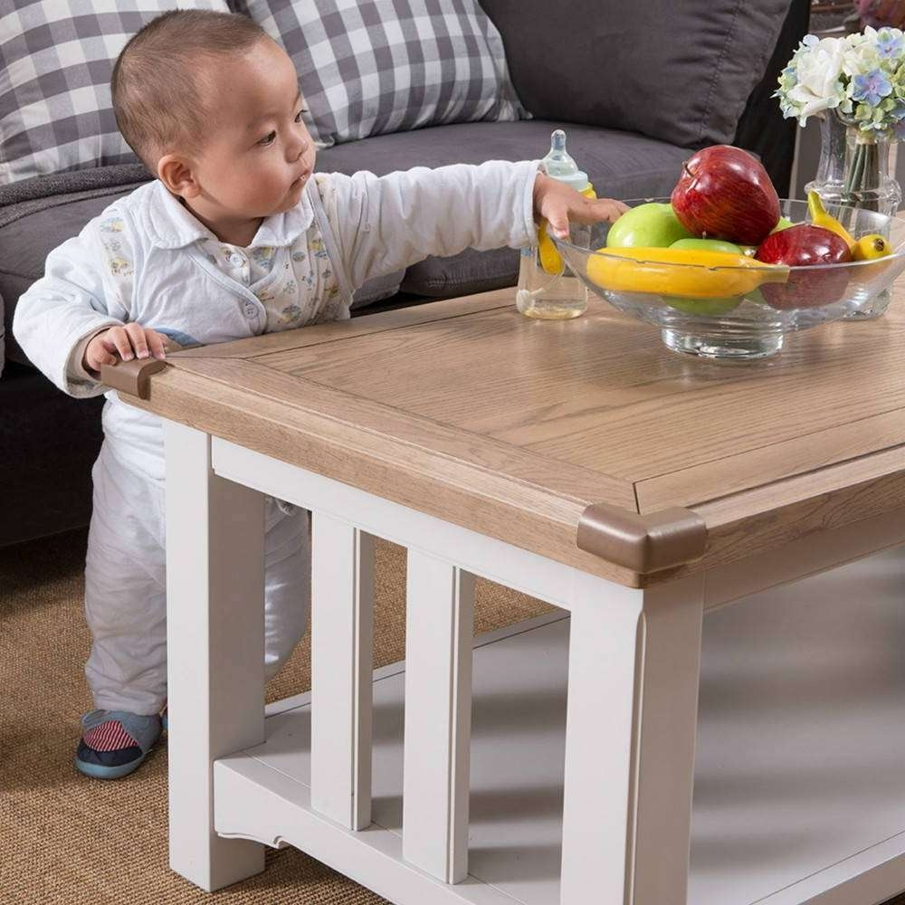 Image Gallery of Baby Proof Coffee Tables Corners View 3 of 20 Photos