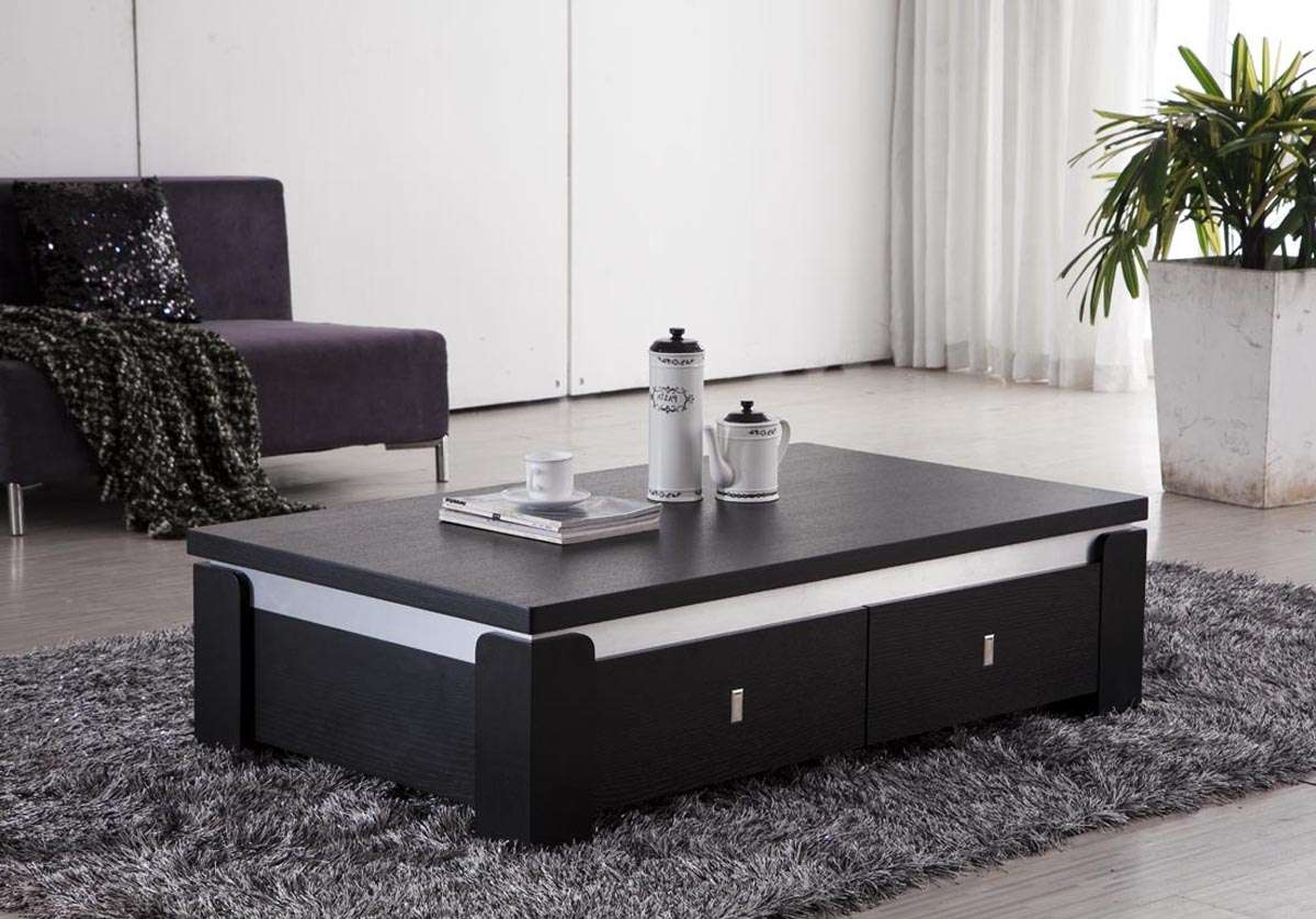 Most Up To Date Black Coffee Tables With Storage With Hairy Cado Furniture Cw Coffee Table Coffee Table Glass To Sweet (View 20 of 20)