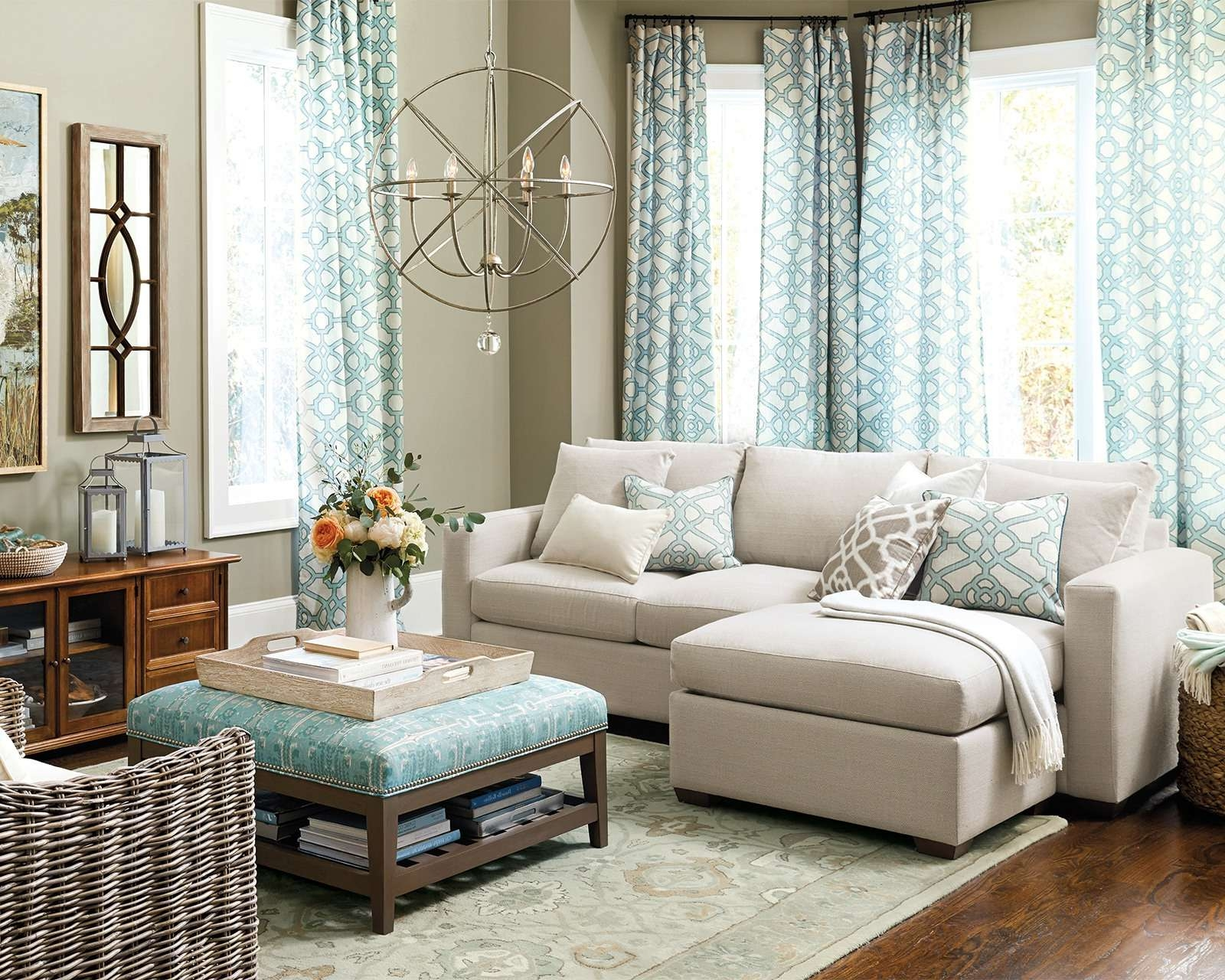 Most Up To Date Coffee Table For Sectional Sofa Within How To Match A Coffee Table To Your Sectional – How To Decorate (View 6 of 20)