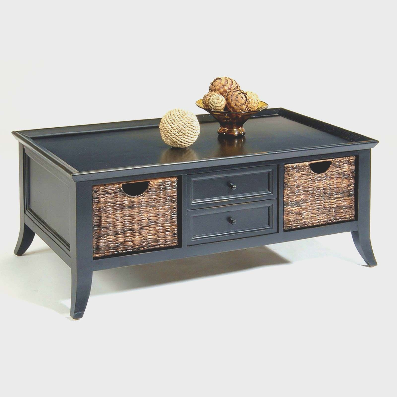 Sofa Table With Storage Baskets Full Size Sofa Table With Baskets