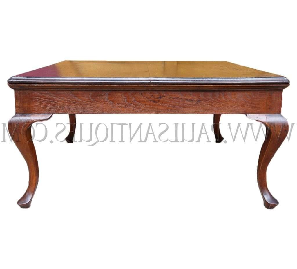 Most Up To Date Colonial Coffee Tables Throughout Burmese British Colonial Teak Cabriole Leg Coffee Table, C (View 16 of 20)