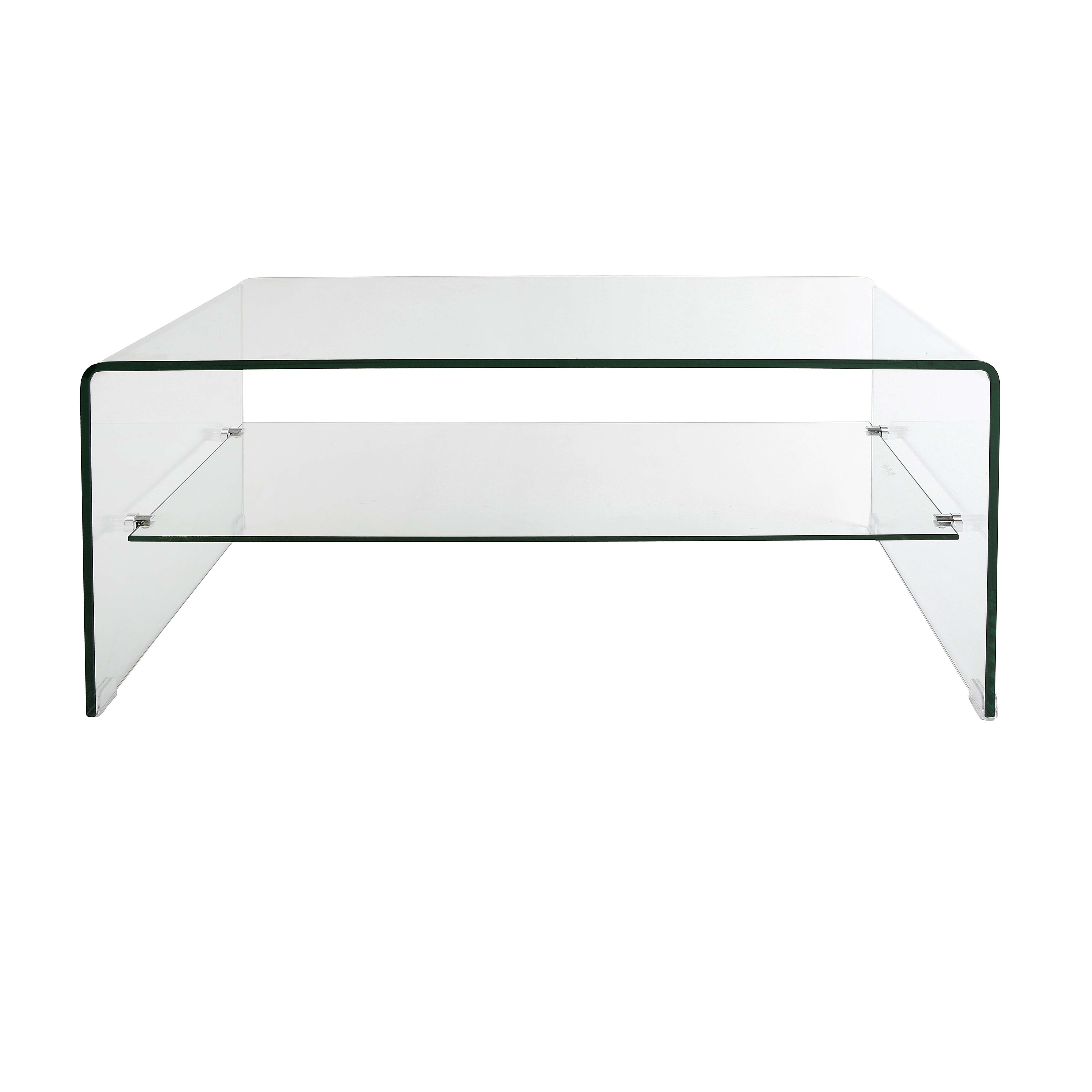 Most Up To Date Curved Glass Coffee Tables Intended For Console Table : Bent Glass Coffee Tables New Table In Modern Clear (View 18 of 20)