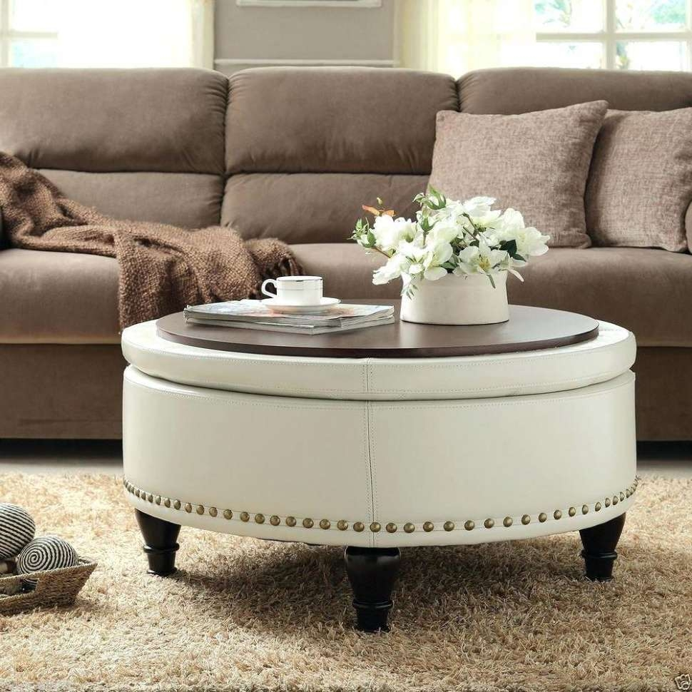 Most Up To Date Fabric Coffee Tables Throughout Coffee Tables : Ottomans Empire Oversized Ottoman Fabric Coffee (View 10 of 20)