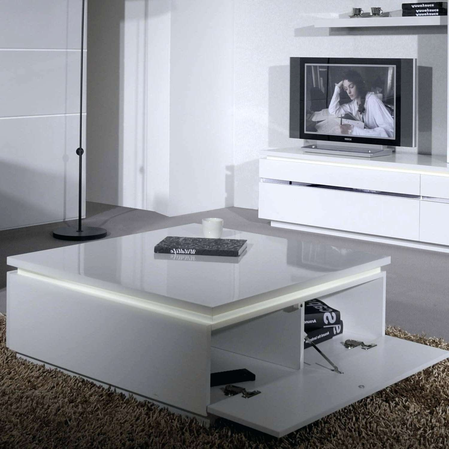 Most Up To Date High Coffee Tables With Led Coffee Table – Rankhero (View 11 of 20)