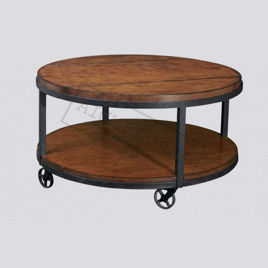 Most Up To Date Indian Coffee Tables Regarding Round Indian Metal Coffee Table (View 15 of 20)