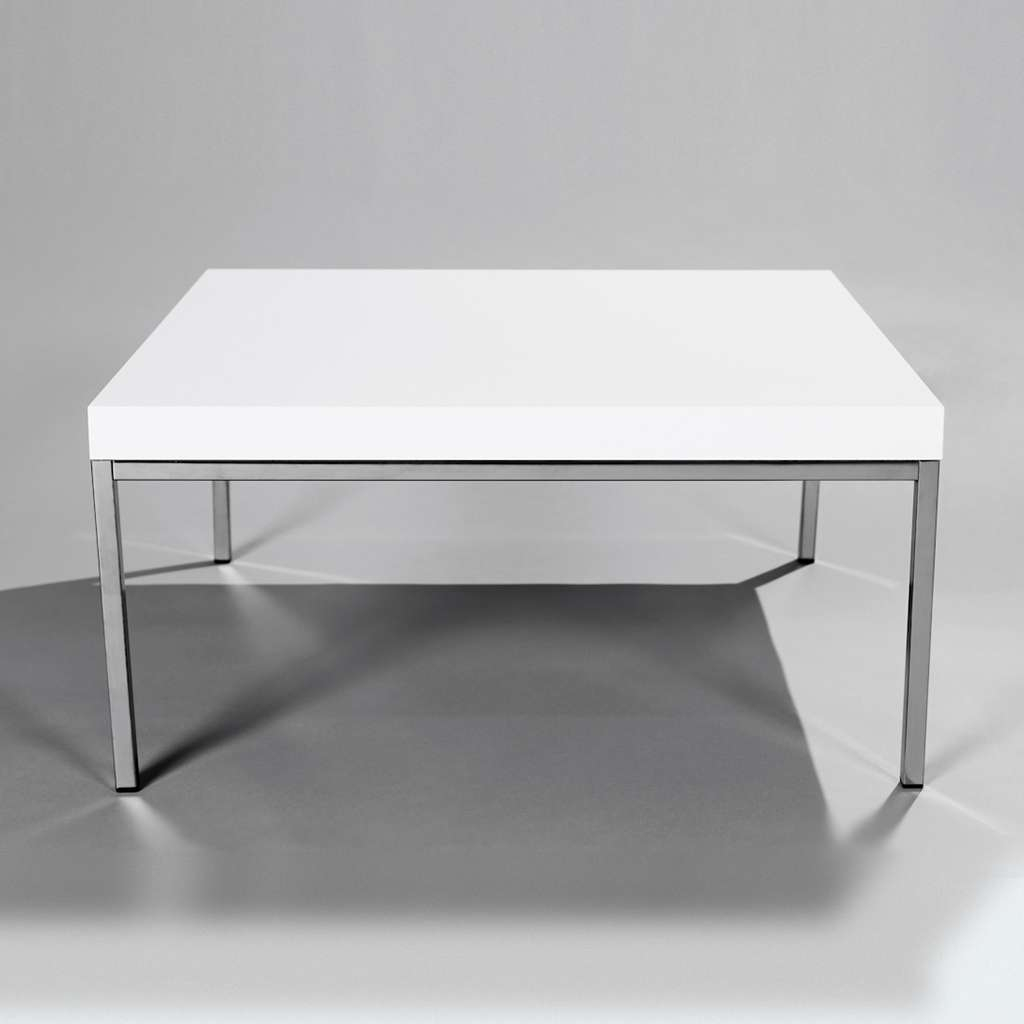 Most Up To Date Large Low White Coffee Tables Intended For Coffee Table: Interesting Square Coffee Table White Decorating (View 16 of 20)