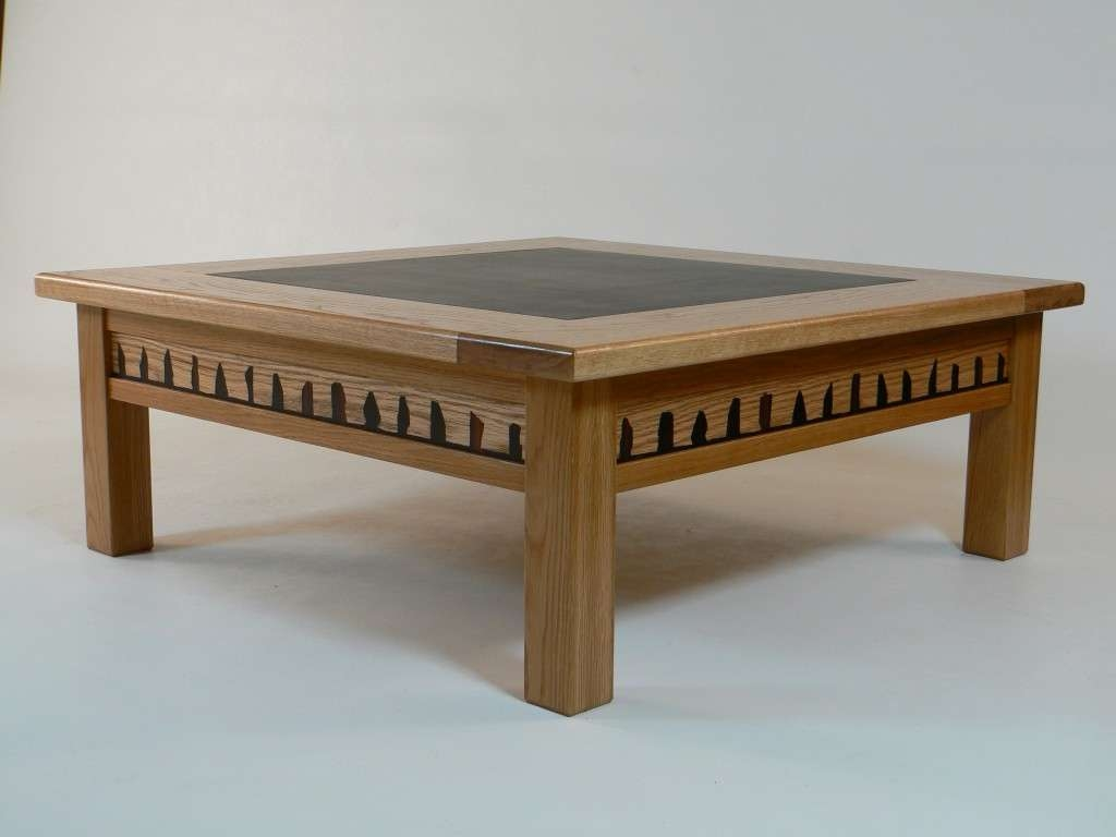 Most Up To Date Large Square Wood Coffee Tables Pertaining To Square Wood Coffee Table Lovely Large Square Glass Top Coffee (View 11 of 20)