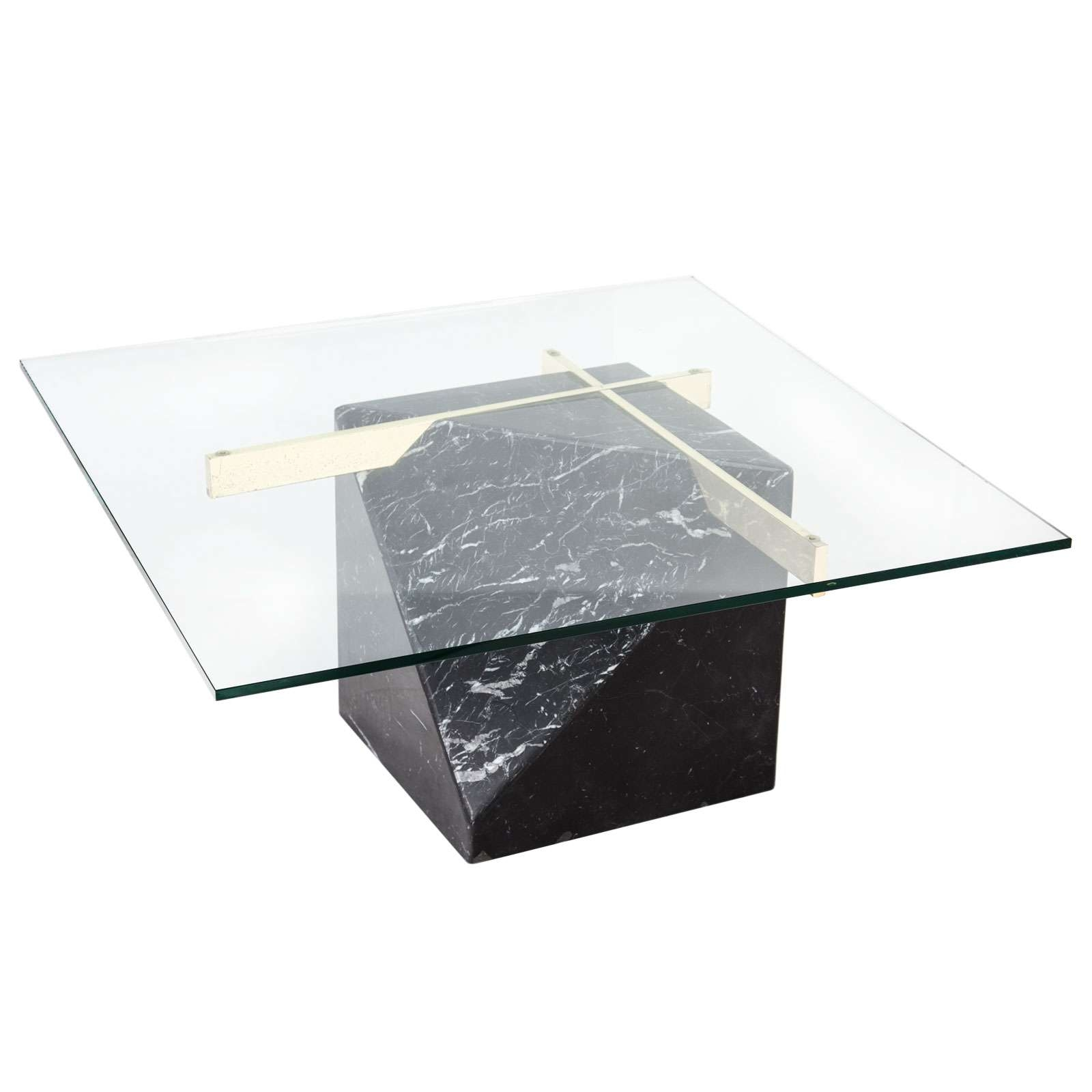 Most Up To Date Marble And Glass Coffee Table Pertaining To Artedi Marble Coffee Table Rentals (View 12 of 20)