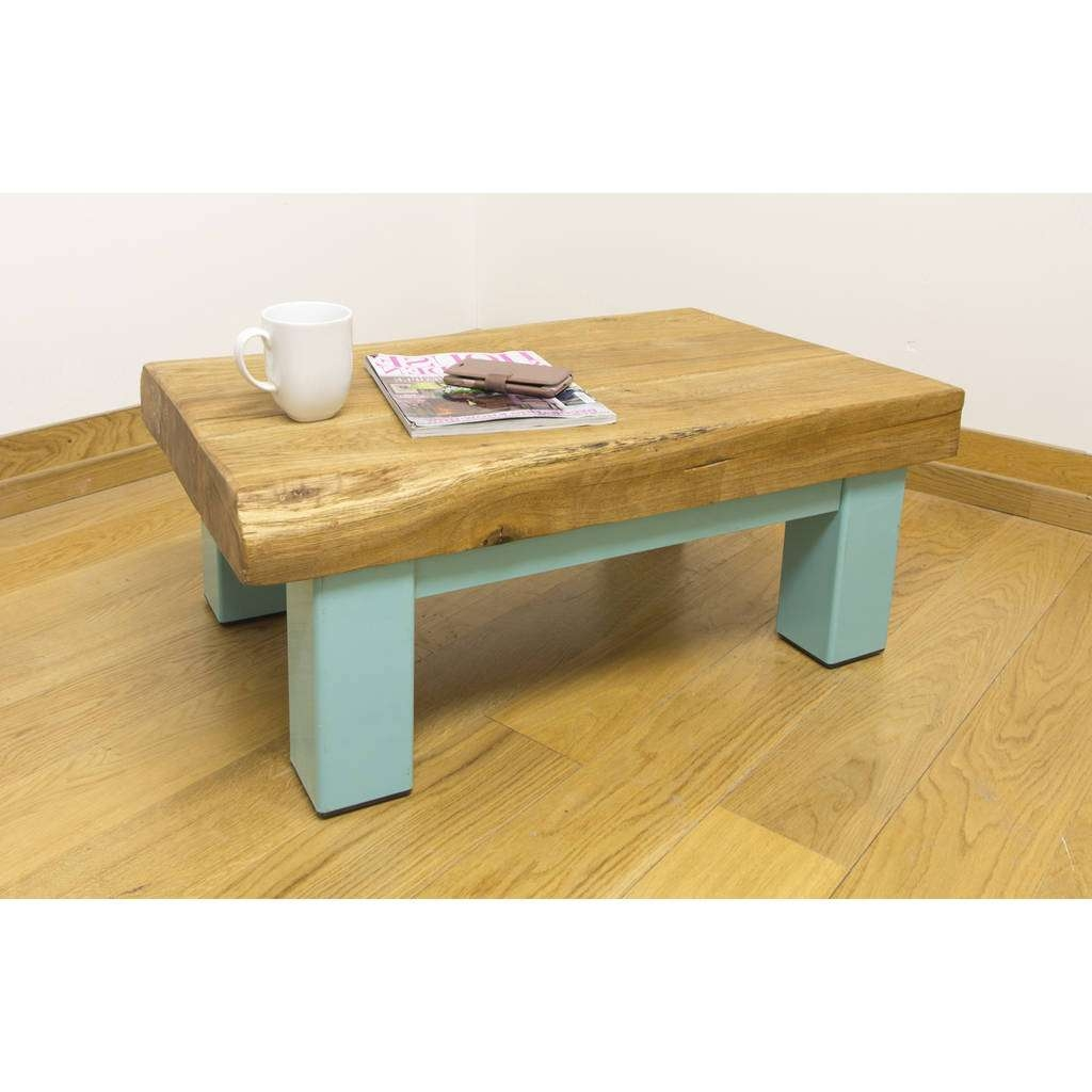 Most Up To Date Oak Beam Coffee Tables Pertaining To Oak And Iron Medium Coffee Tableoak & Iron Furniture (View 12 of 20)