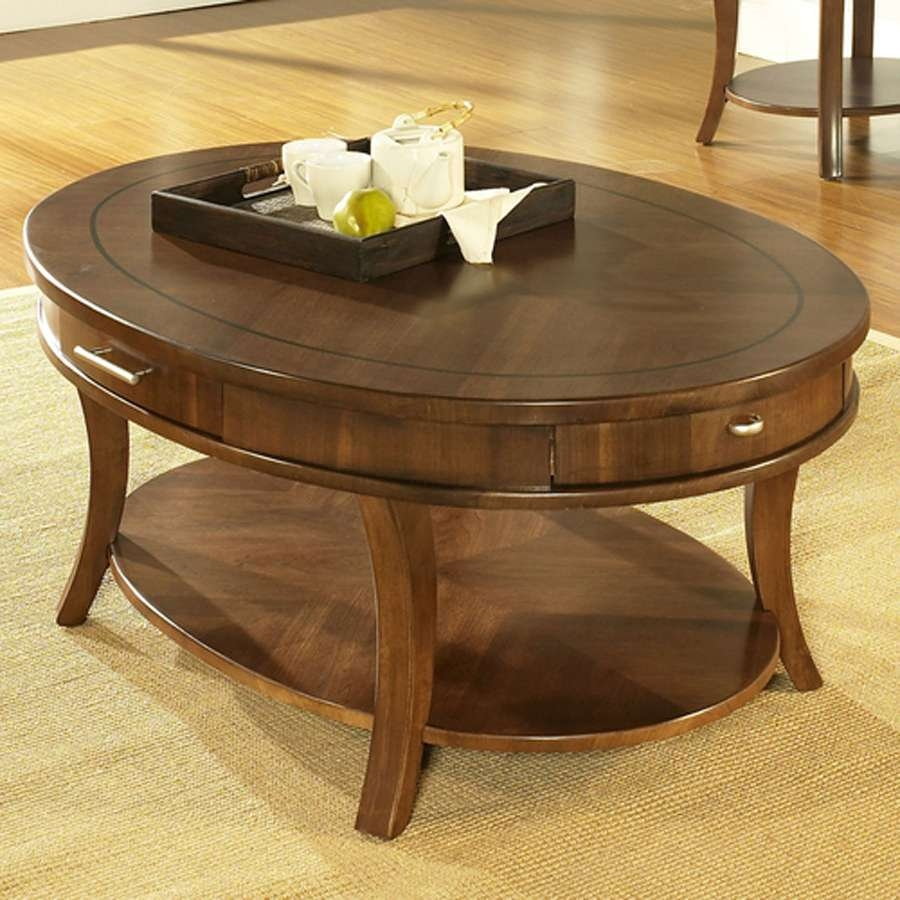 Most Up To Date Oval Wood Coffee Tables Regarding Marvelous Oval Coffee Tables Ideas – Oval Coffee Table Sets, Oval (View 13 of 20)