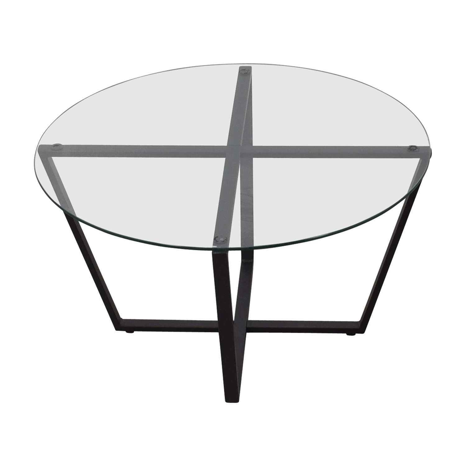[%Most Up To Date Round Glass Coffee Tables With 46% Off – Mango Steam Mango Steam Metro Round Glass Coffee Table|46% Off – Mango Steam Mango Steam Metro Round Glass Coffee Table With Latest Round Glass Coffee Tables%] (View 2 of 20)