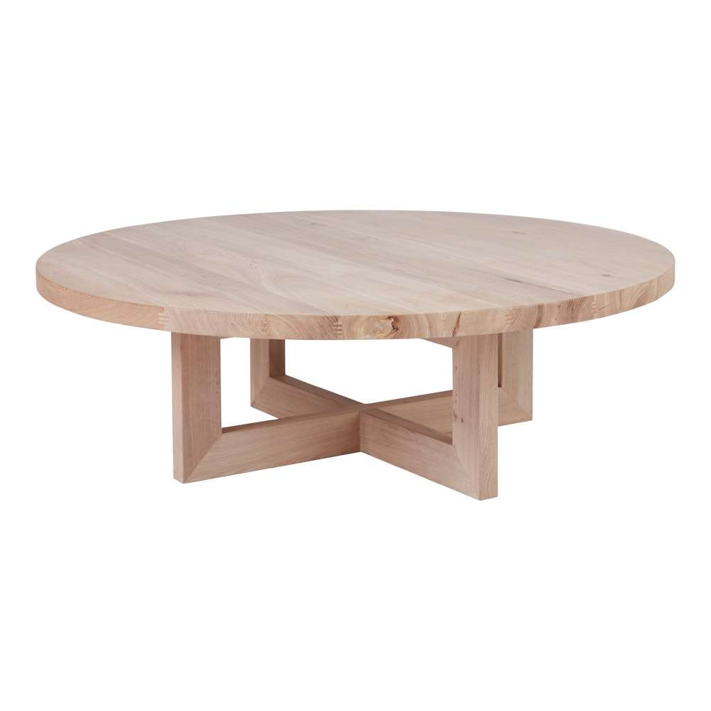 Featured Photo of Round Oak Coffee Tables