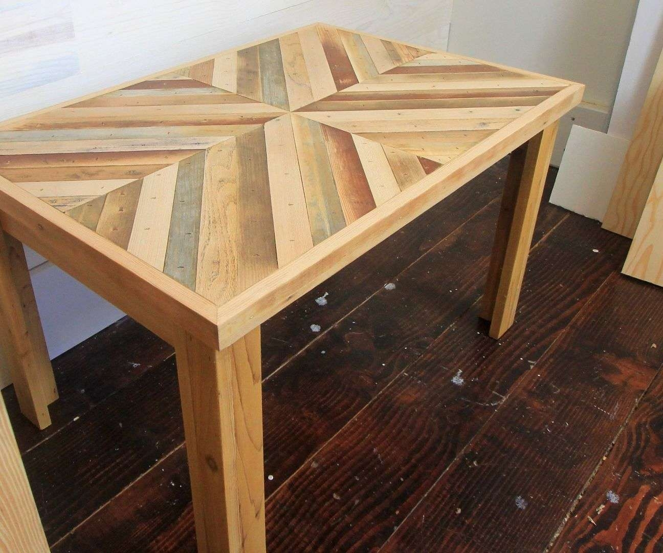 Most Up To Date Rustic Style Coffee Tables Inside Diy Rustic Style Coffee Table With Reclaimed Wood (With Pictures) (View 13 of 20)