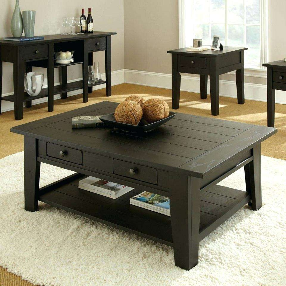 Most Up To Date Square Coffee Tables With Drawers Inside Coffee Tables : Square Coffee Table With Storage Suzannawinter Com (View 20 of 20)