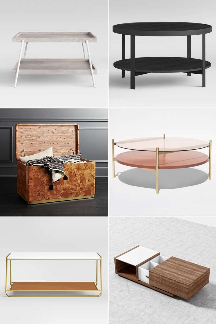 Most Up To Date Stylish Coffee Tables Inside My Search For A Stylish Coffee Table With Storage (View 7 of 20)