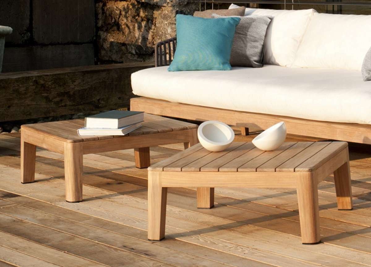 Most Up To Date Wooden Garden Coffee Tables In Tribu Mood Garden Coffee  Table U2013 Tribu