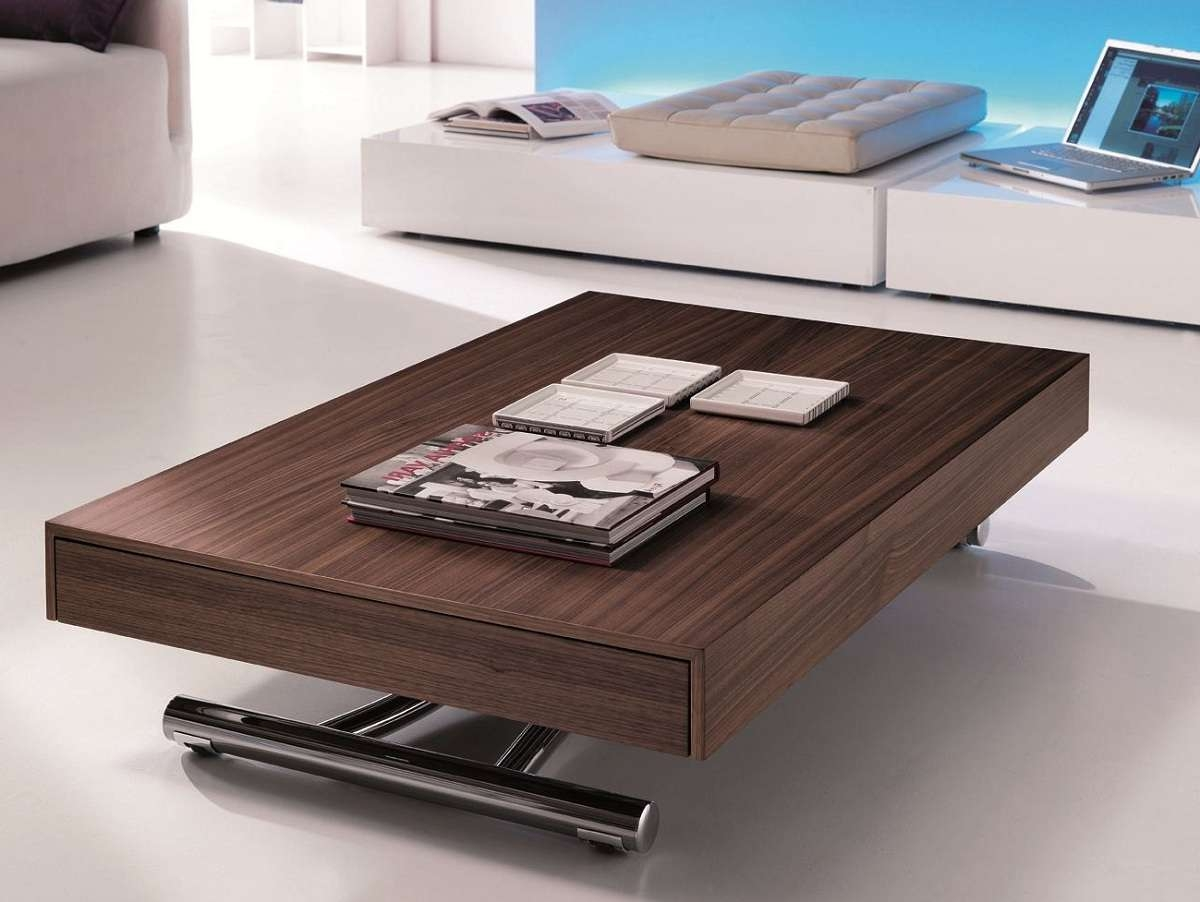 Multipurpose Coffee Table Within Favorite Raisable Coffee Tables (View 15 of 20)