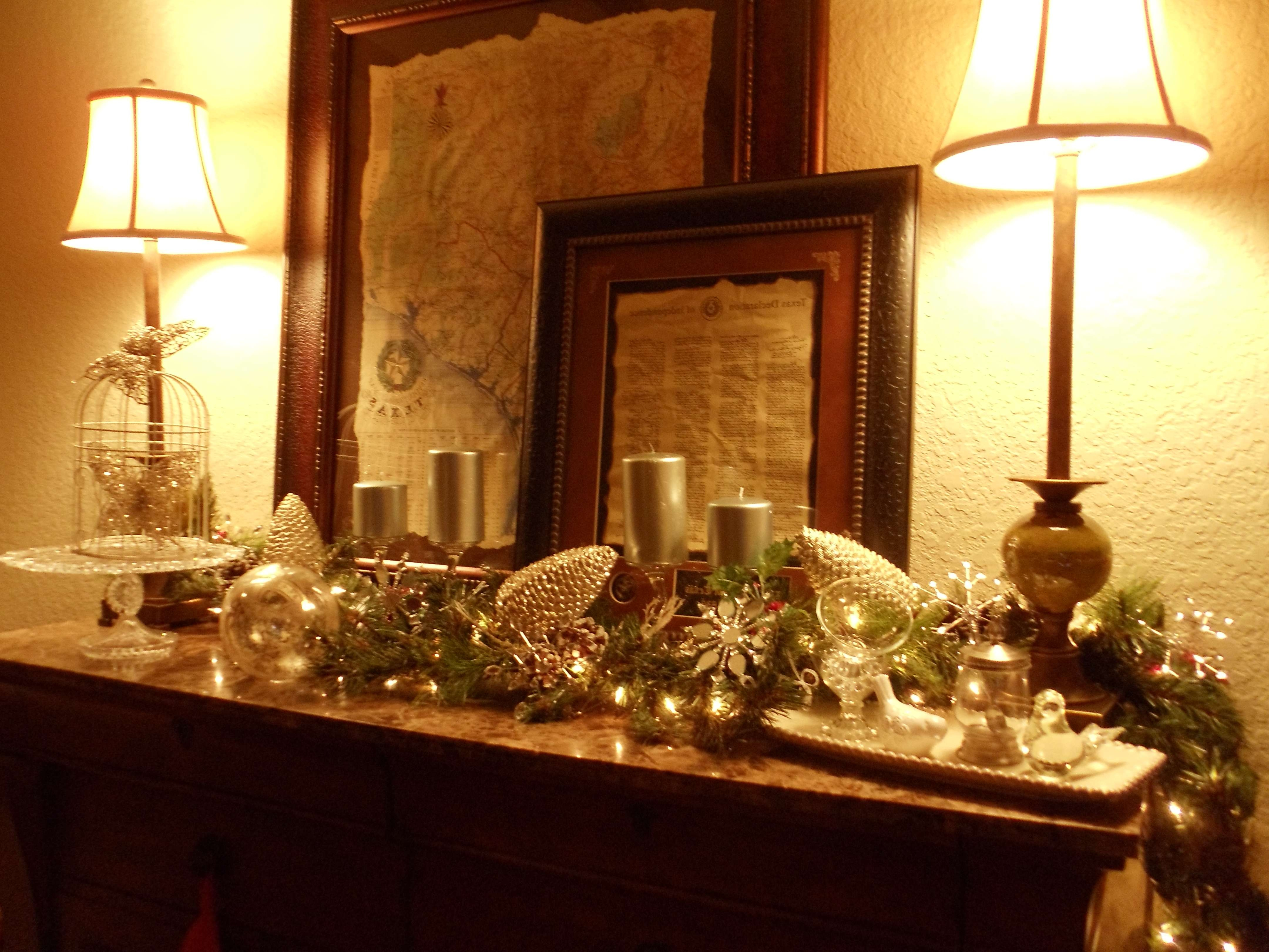 My Christmas Sideboard | Nola Girl At Heartlifestyle Blog For Sideboards Decors (View 11 of 20)