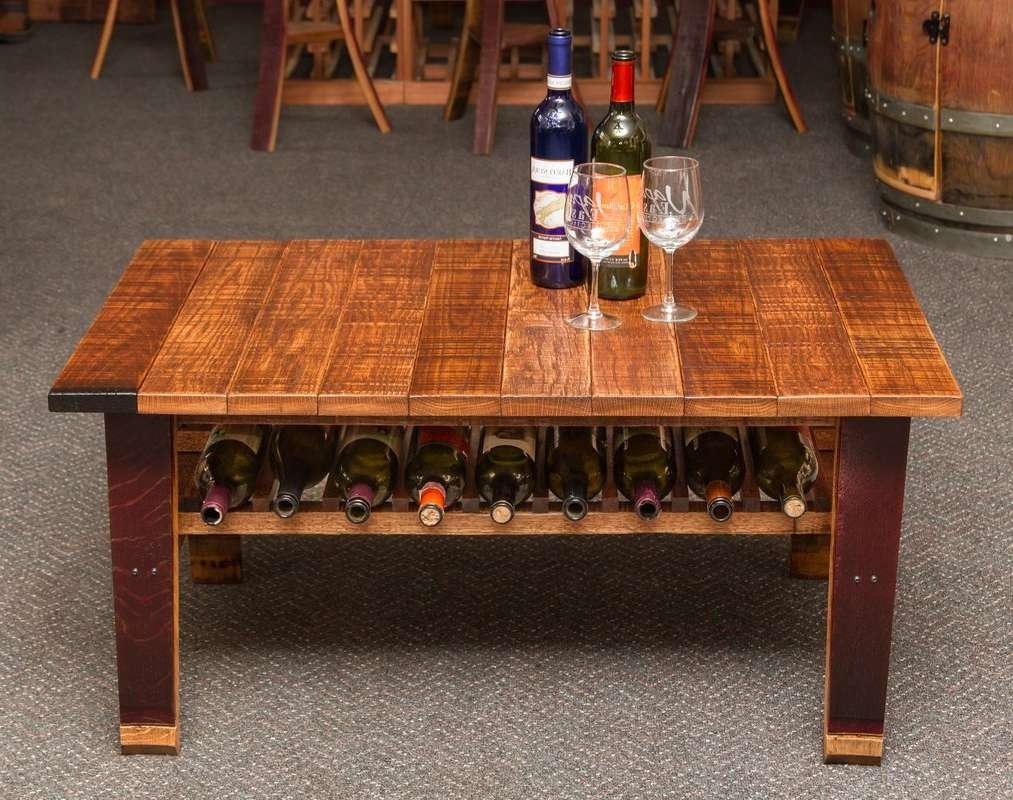 Napa East Collection Wine Country Coffee Table & Reviews (View 2 of 20)