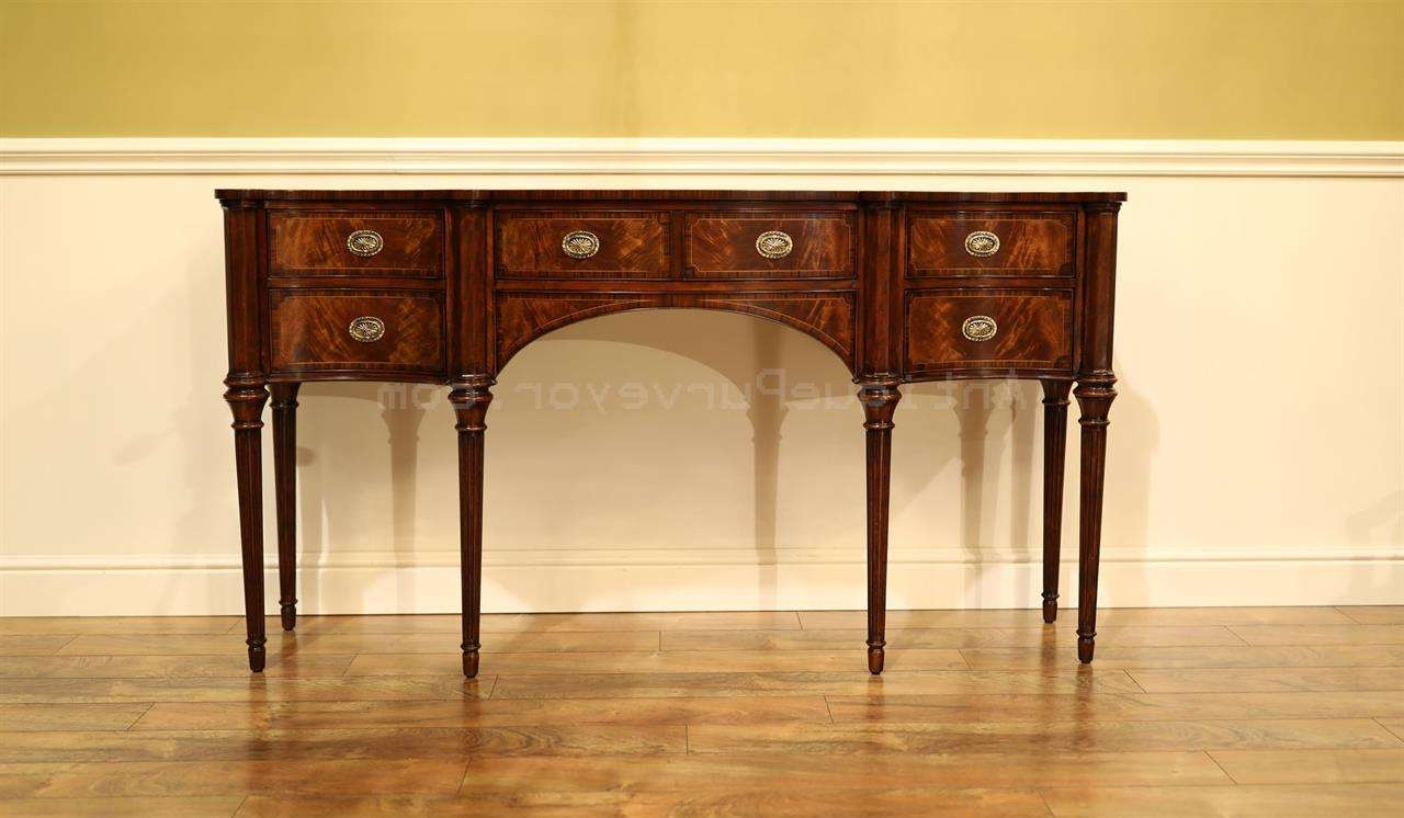 Narrow Mahogany Sideboard For Dining Room Great Console Table With Regard To Narrow Sideboards (View 11 of 20)