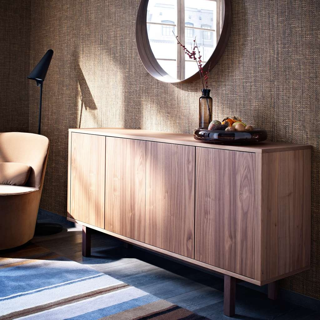 Natural Warmth In Ikea Stockholm Sideboards (View 10 of 20)
