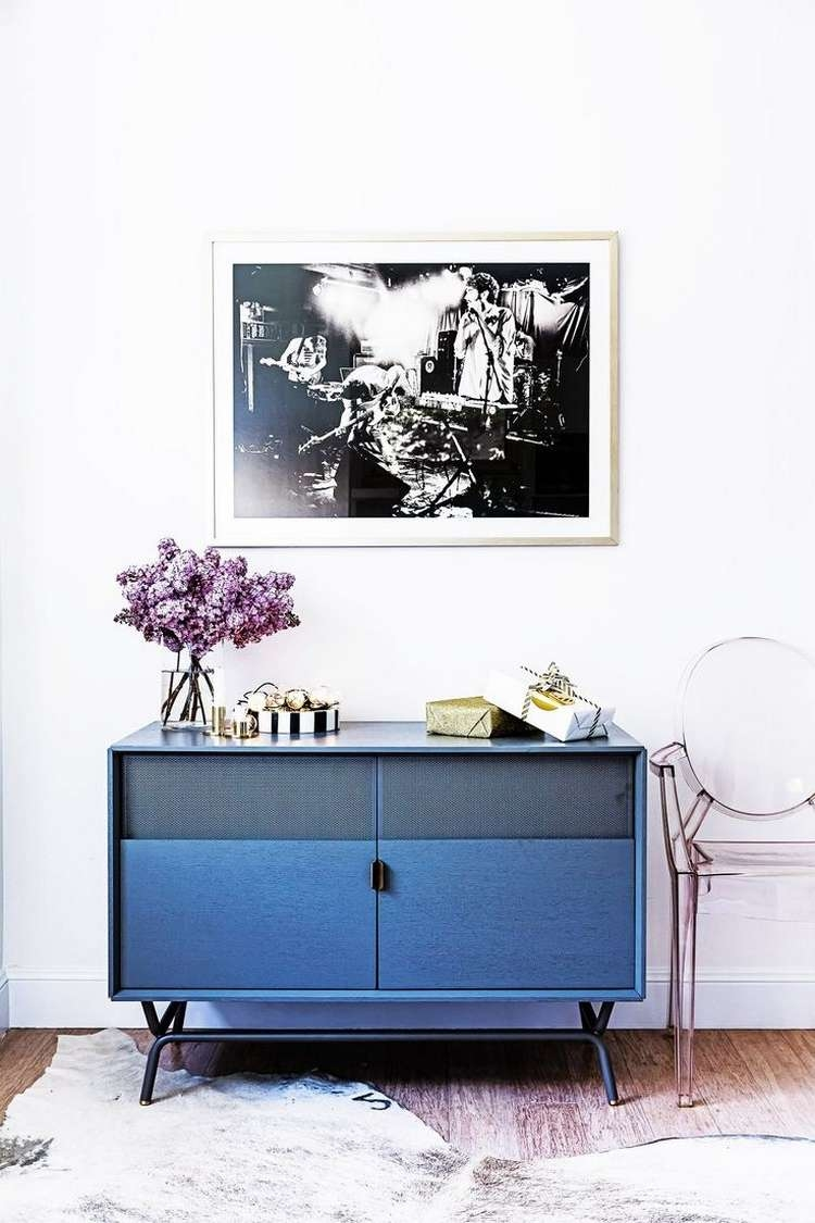 Navy Blue Sideboards And Cabinets For A Modern Home Inside Blue Sideboards (View 9 of 20)