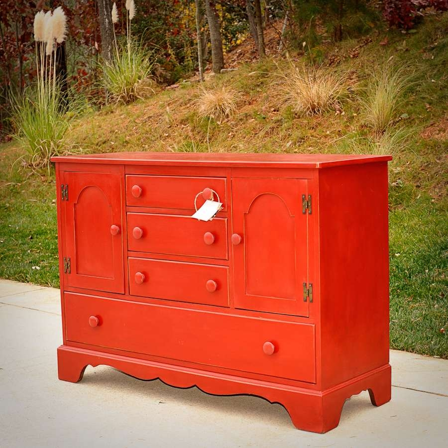 Need A Latte Mom: Country Sideboard In Emperor's Silk With Medium Throughout Annie Sloan Painted Sideboards (View 9 of 20)
