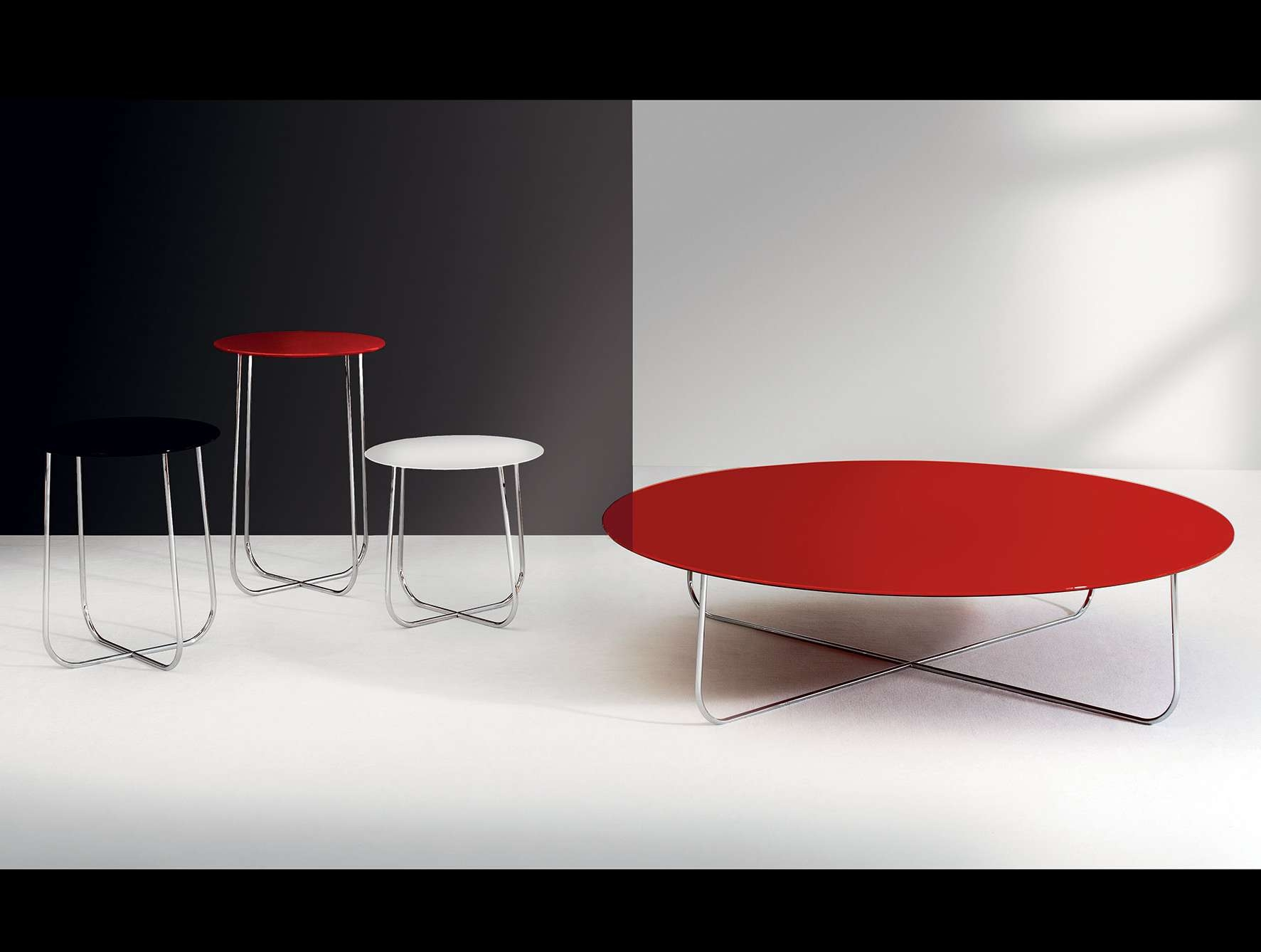 Nella Vetrina Dona Violette Modern Italian Designer Red Coffee Table With Well Liked Red Coffee Tables (Gallery 5 of 20)