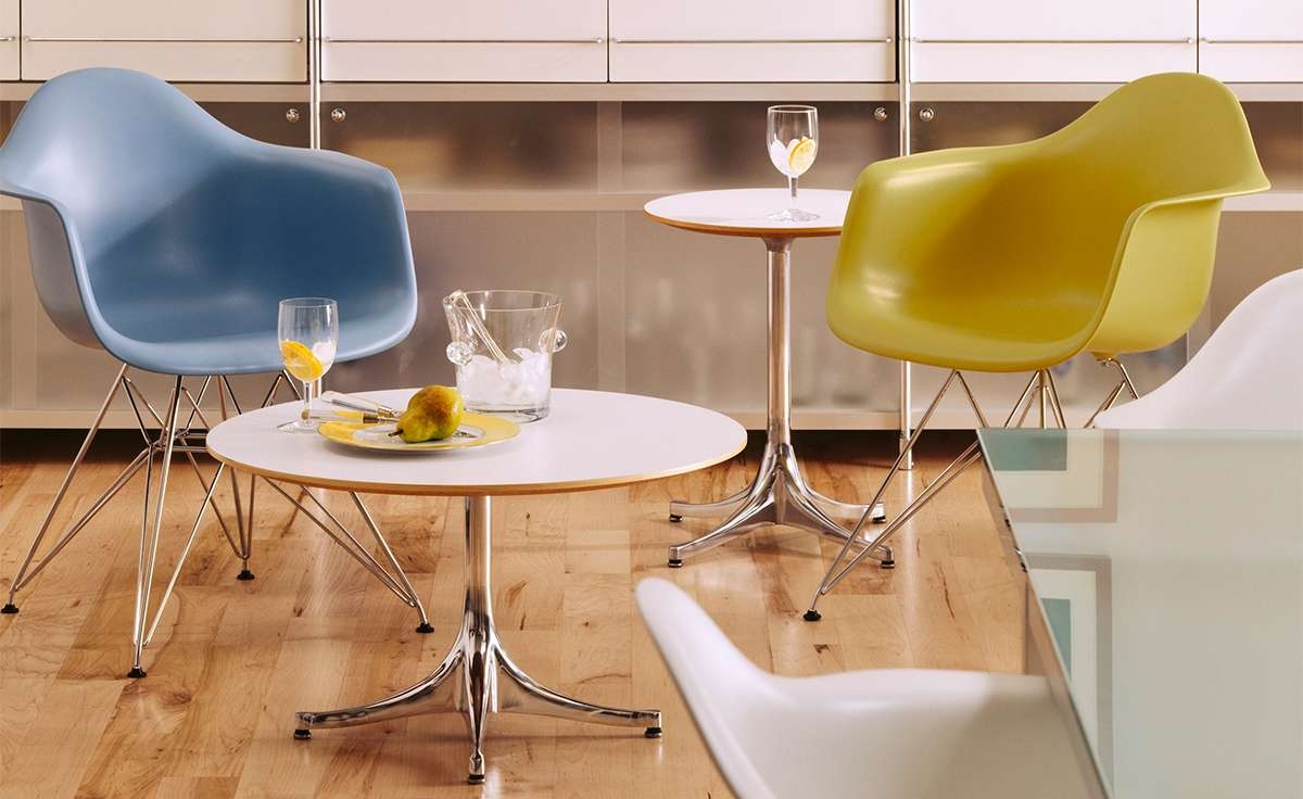 Nelson Pedestal Table – Hivemodern With Regard To Well Known Nelson Coffee Tables (View 4 of 20)