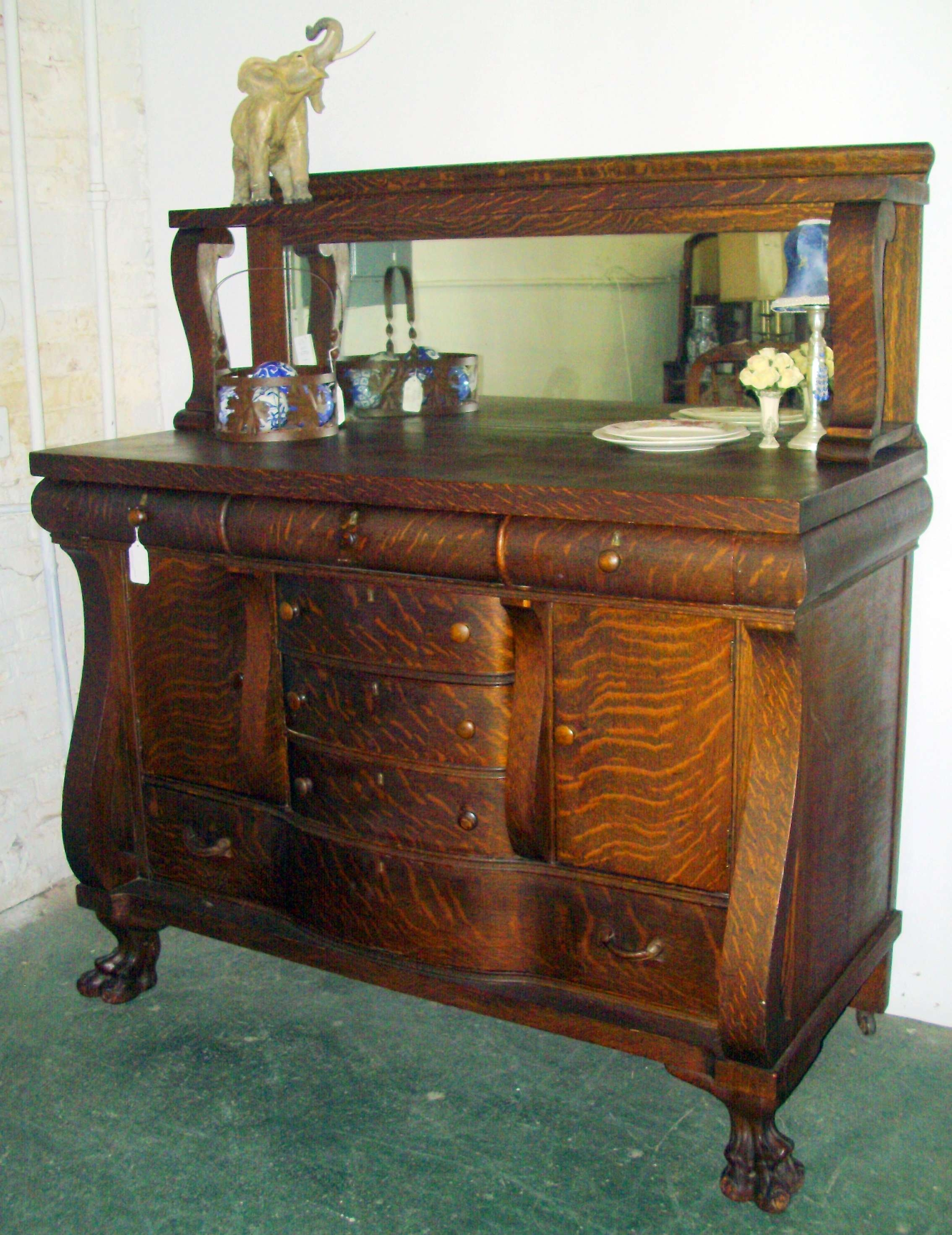 New Antique Sideboard With Mirror – Bjdgjy With Regard To Antique Sideboards With Mirror (View 12 of 20)