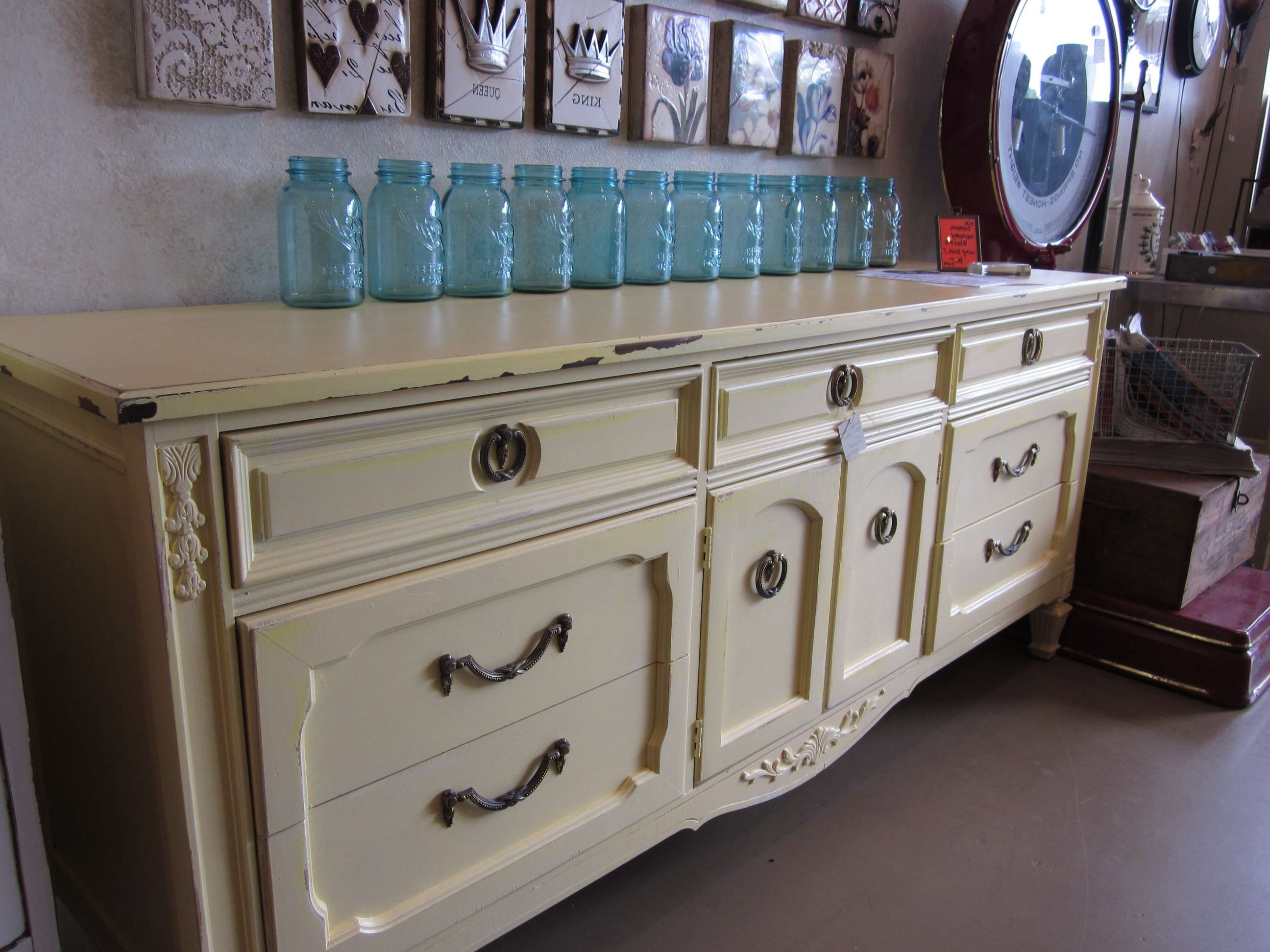New Arrival  Thomasville Buffet/sideboard (Sold) | Paper Street Market Inside Thomasville Sideboards (View 13 of 20)