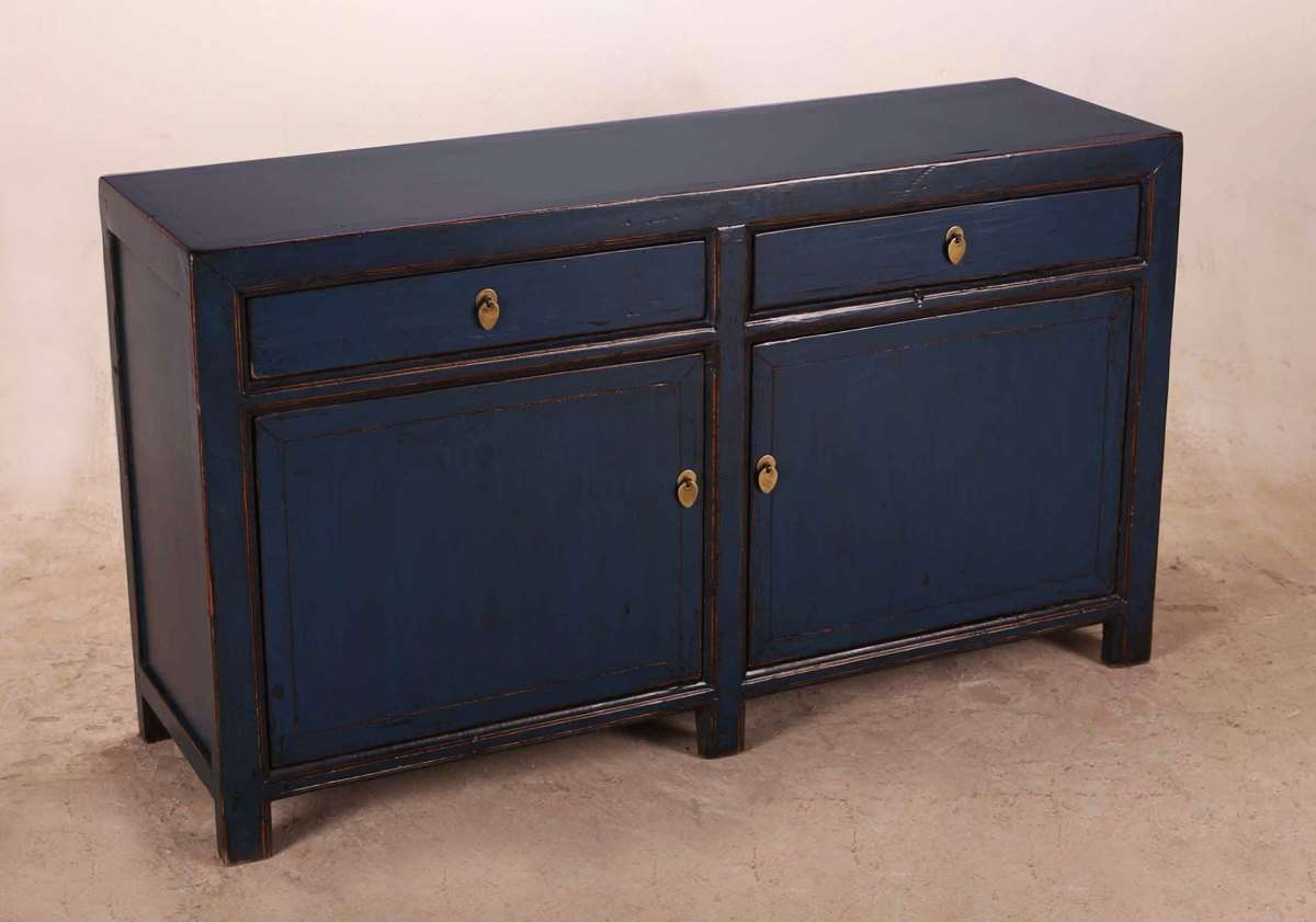New Ideas Diy Blue Sideboard | Wood Furniture Pertaining To Blue Sideboards (View 10 of 20)