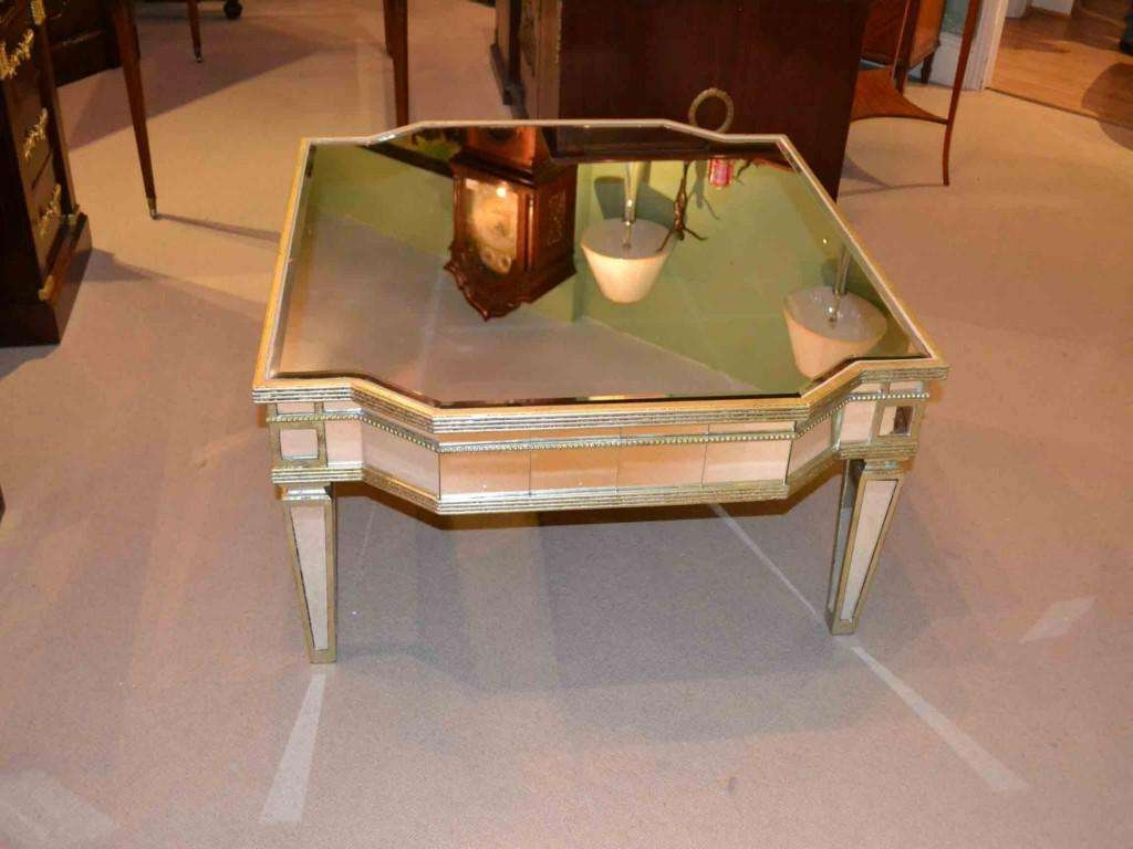 Newest Antique Mirrored Coffee Tables For Best Mirrored Coffee Table — Home Design Ideas (View 15 of 20)