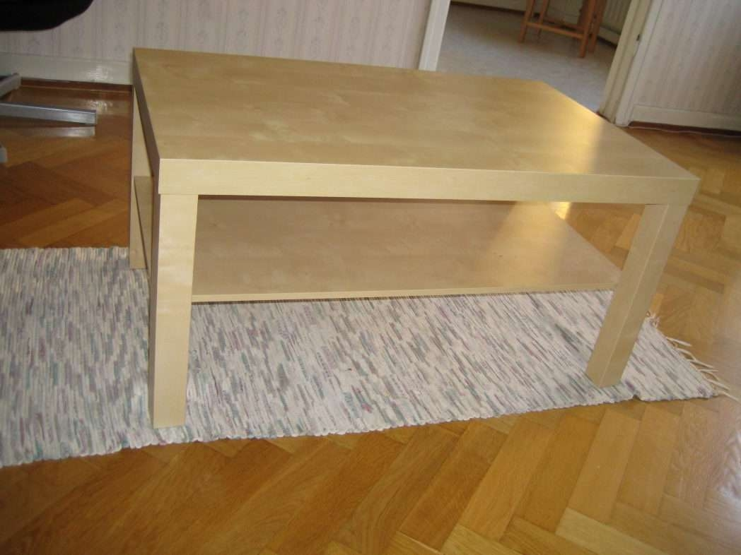 Newest Birch Coffee Tables With How To Make A Beautiful Scandinavian Diy Birch Coffee Table L / Thippo (View 12 of 20)